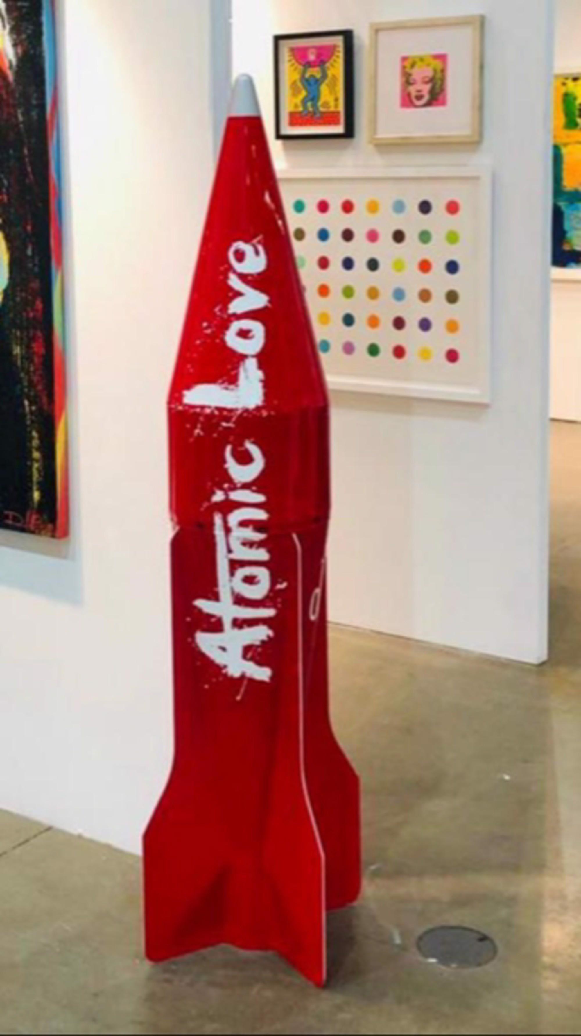 Atomic Love Rocket by Behind Pink Walls