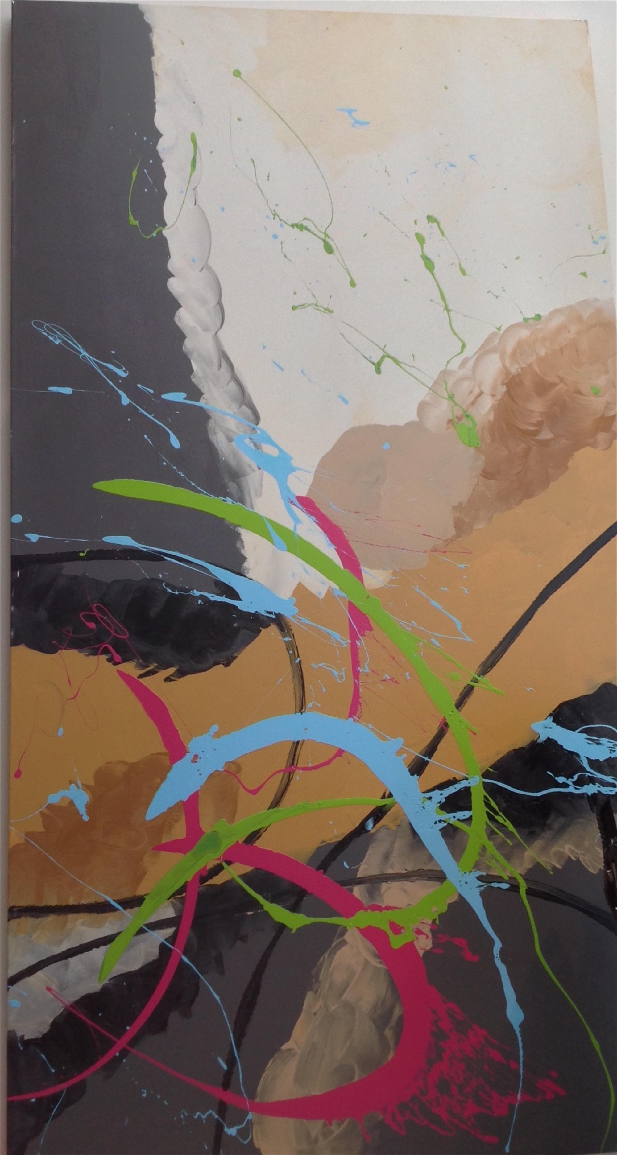 Large Abstract by Elena Bulatova