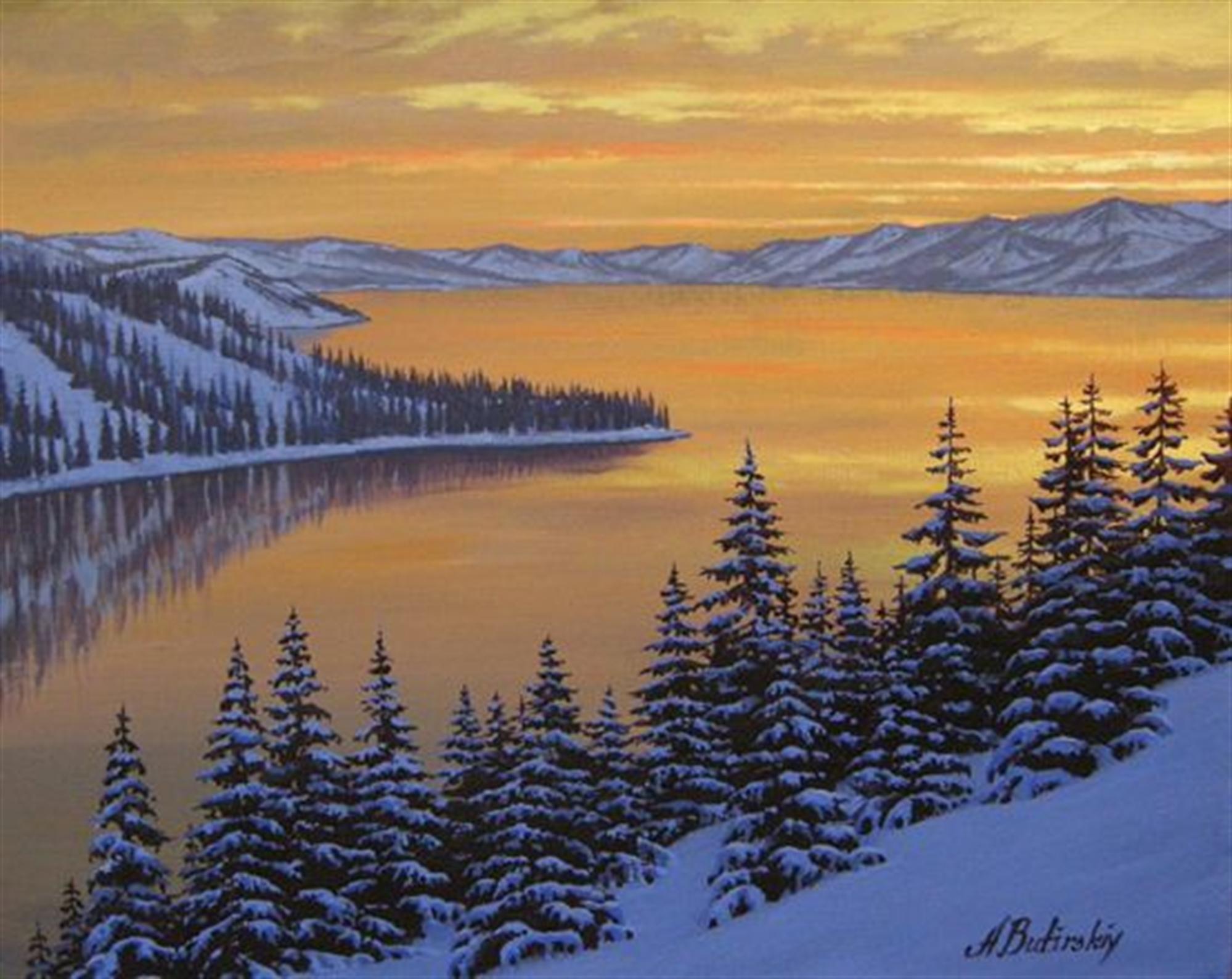 Winter Colors by Alexei Butirskiy
