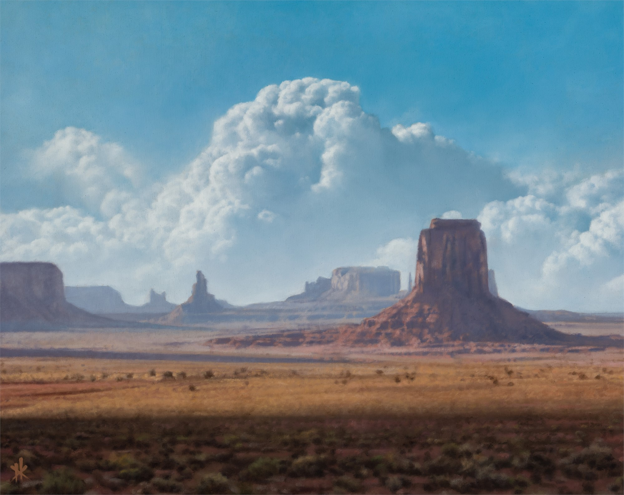 Artist's Point, Monument Valley by Patrick Kramer