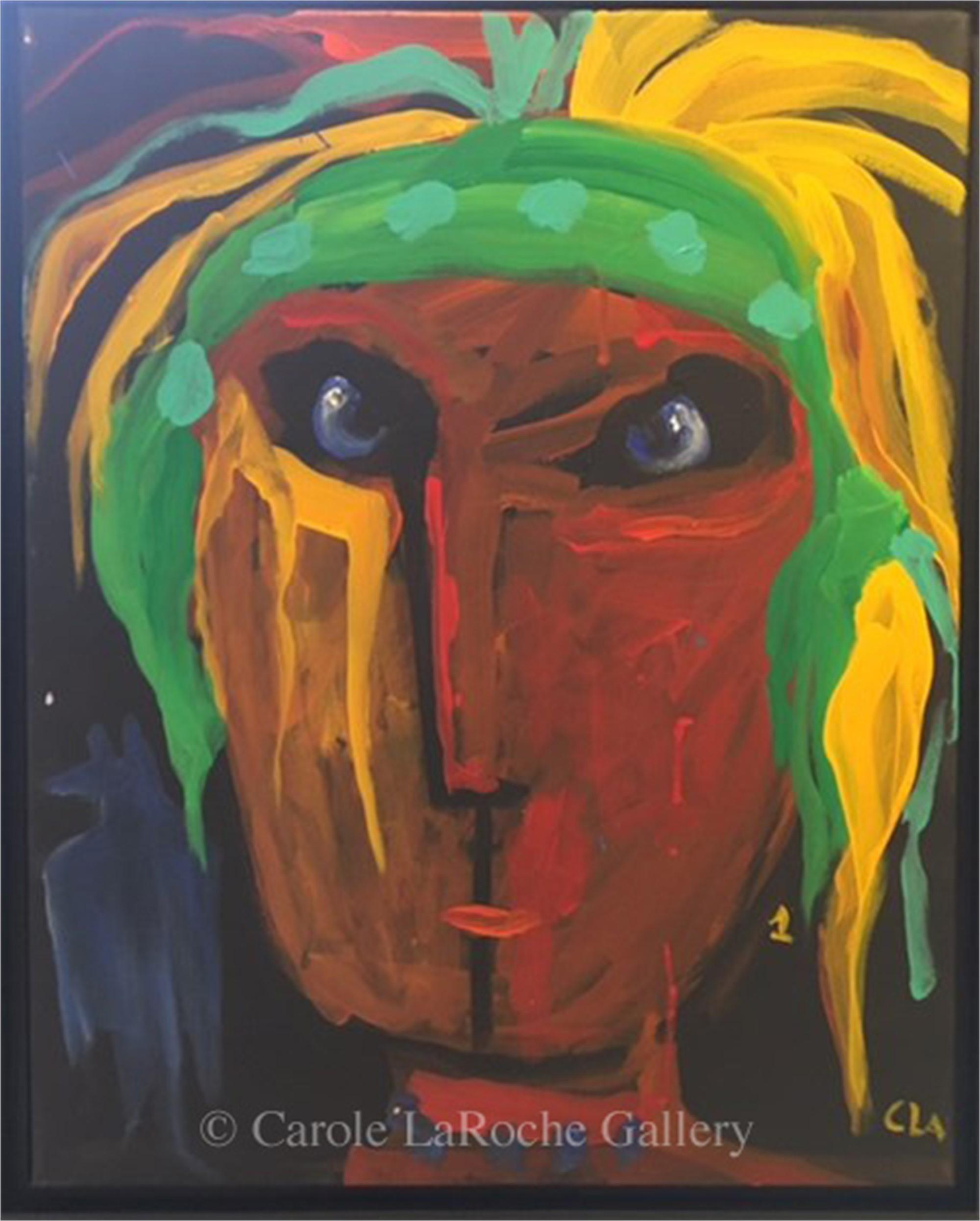TRIBESMAN #1 by Carole LaRoche