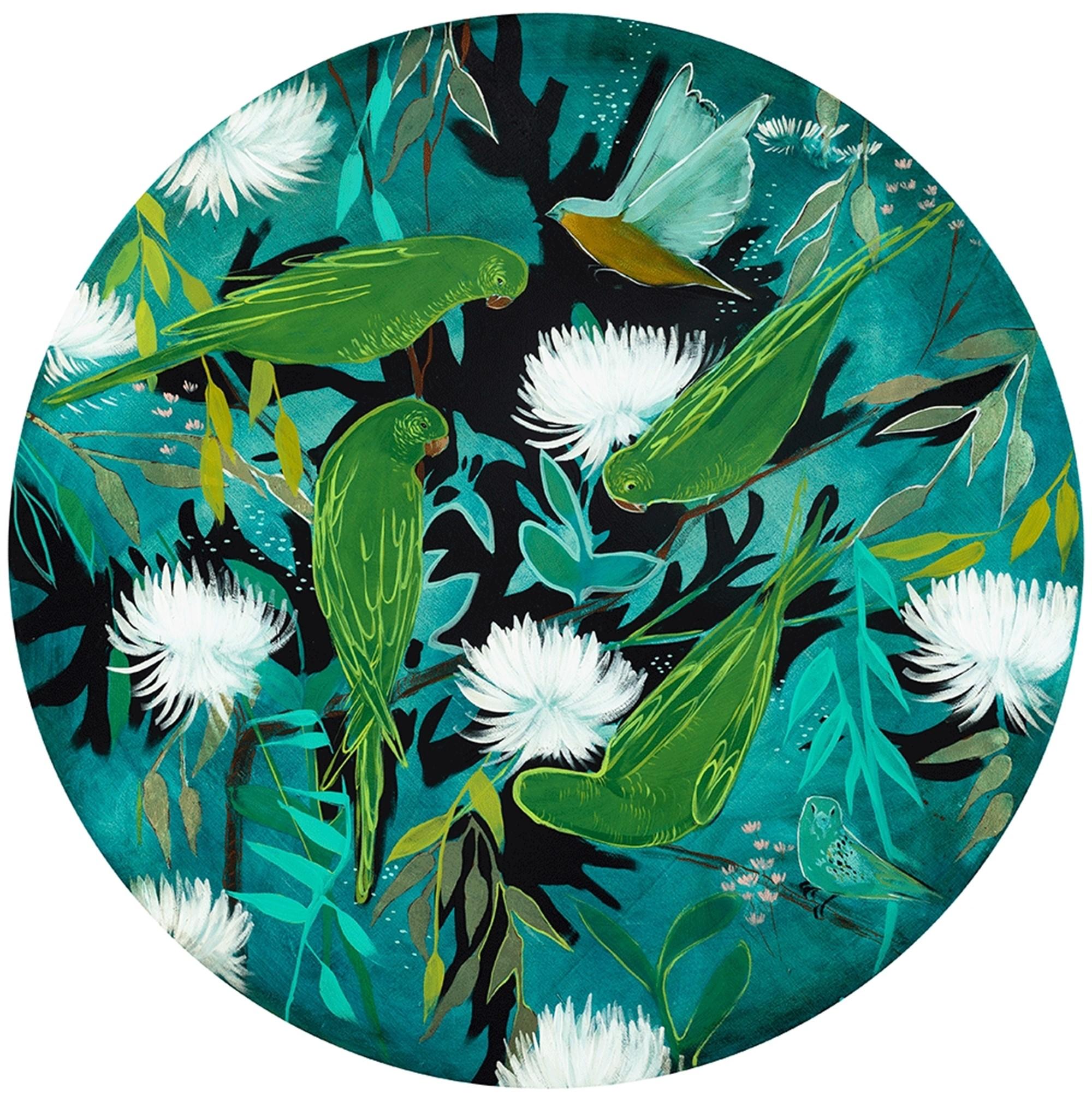 Aviary 40 Round by Joseph Bradley