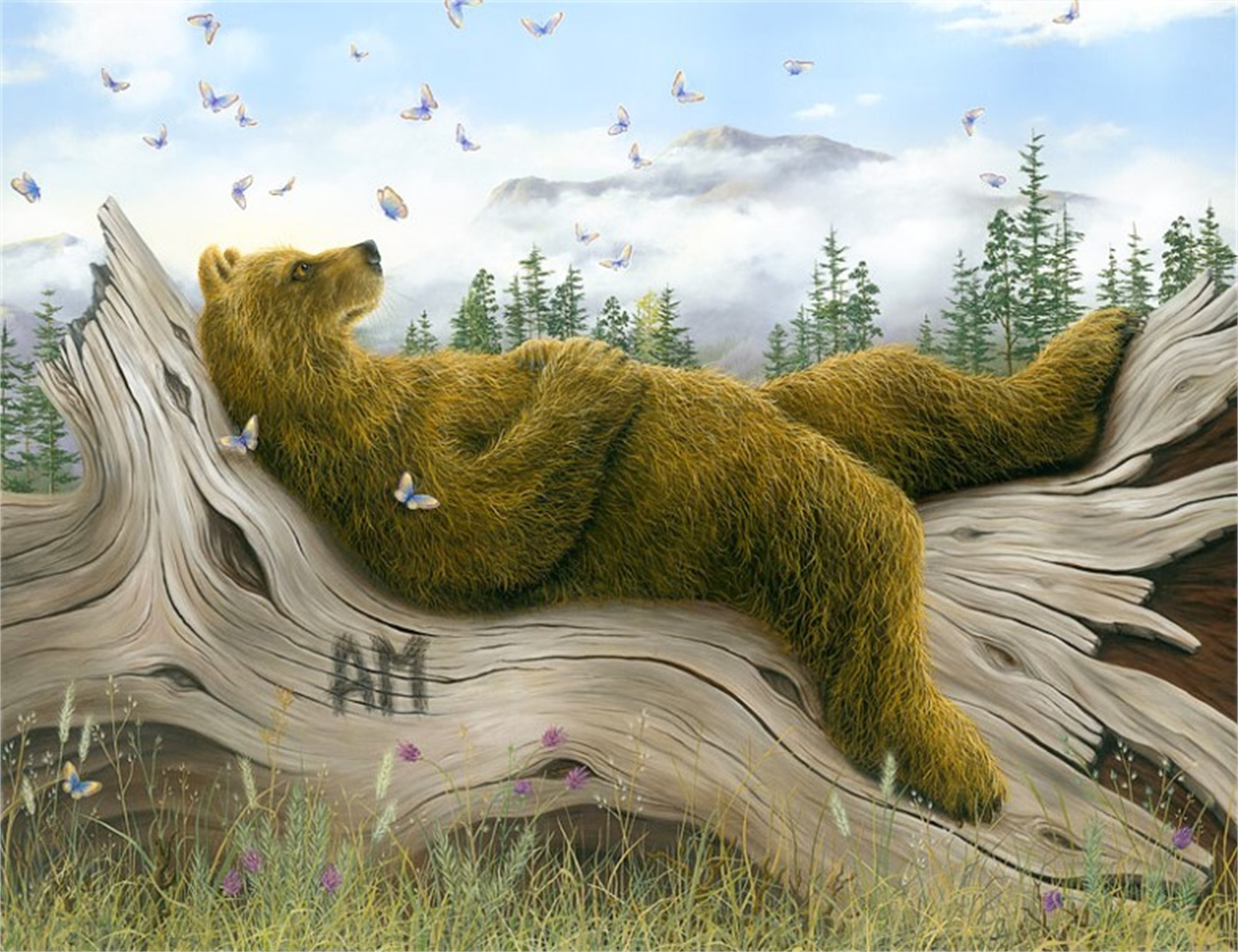 AM2 (Small Works) by Robert Bissell