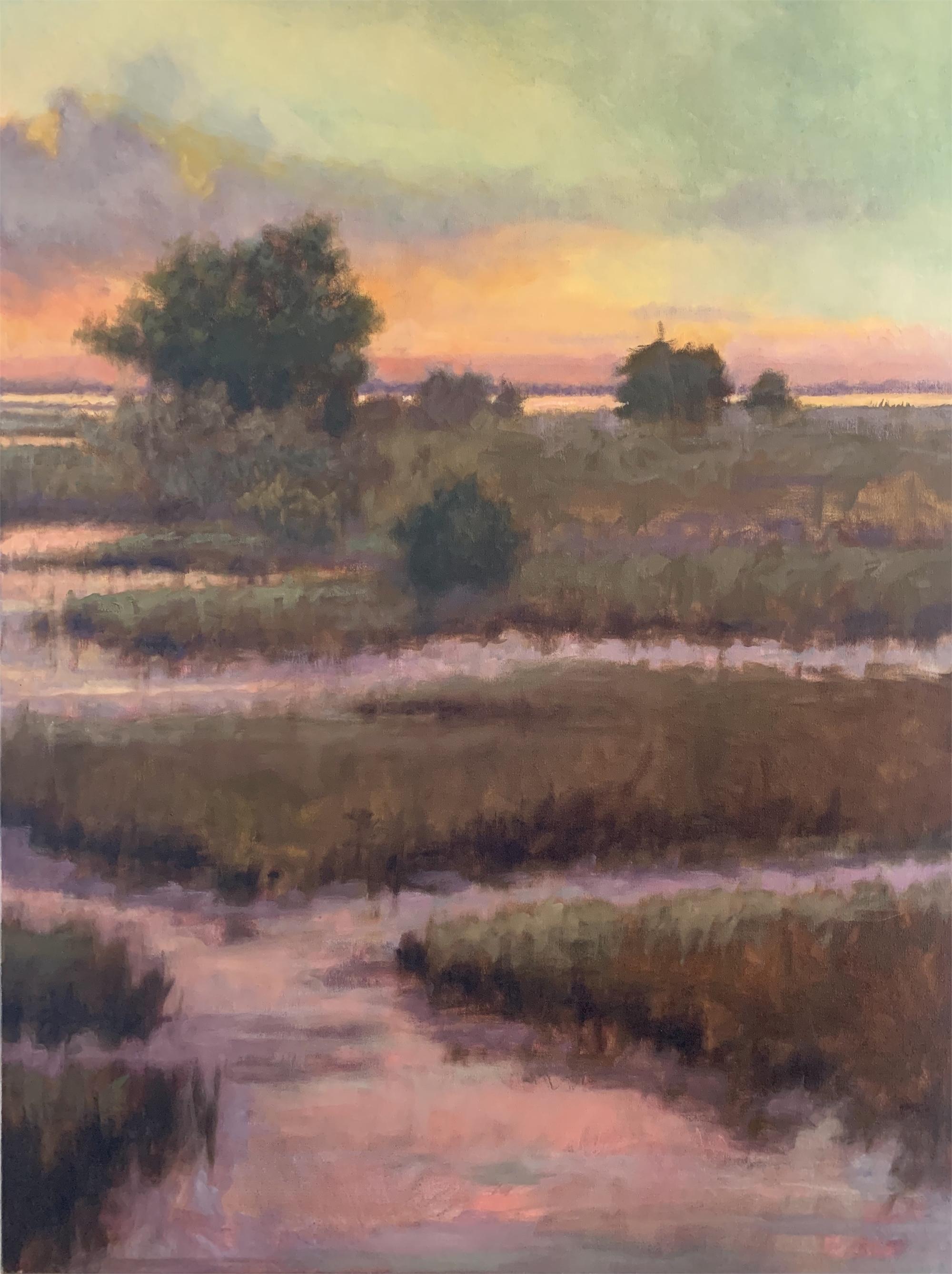 Mandarin Creek I by Laurie Meyer