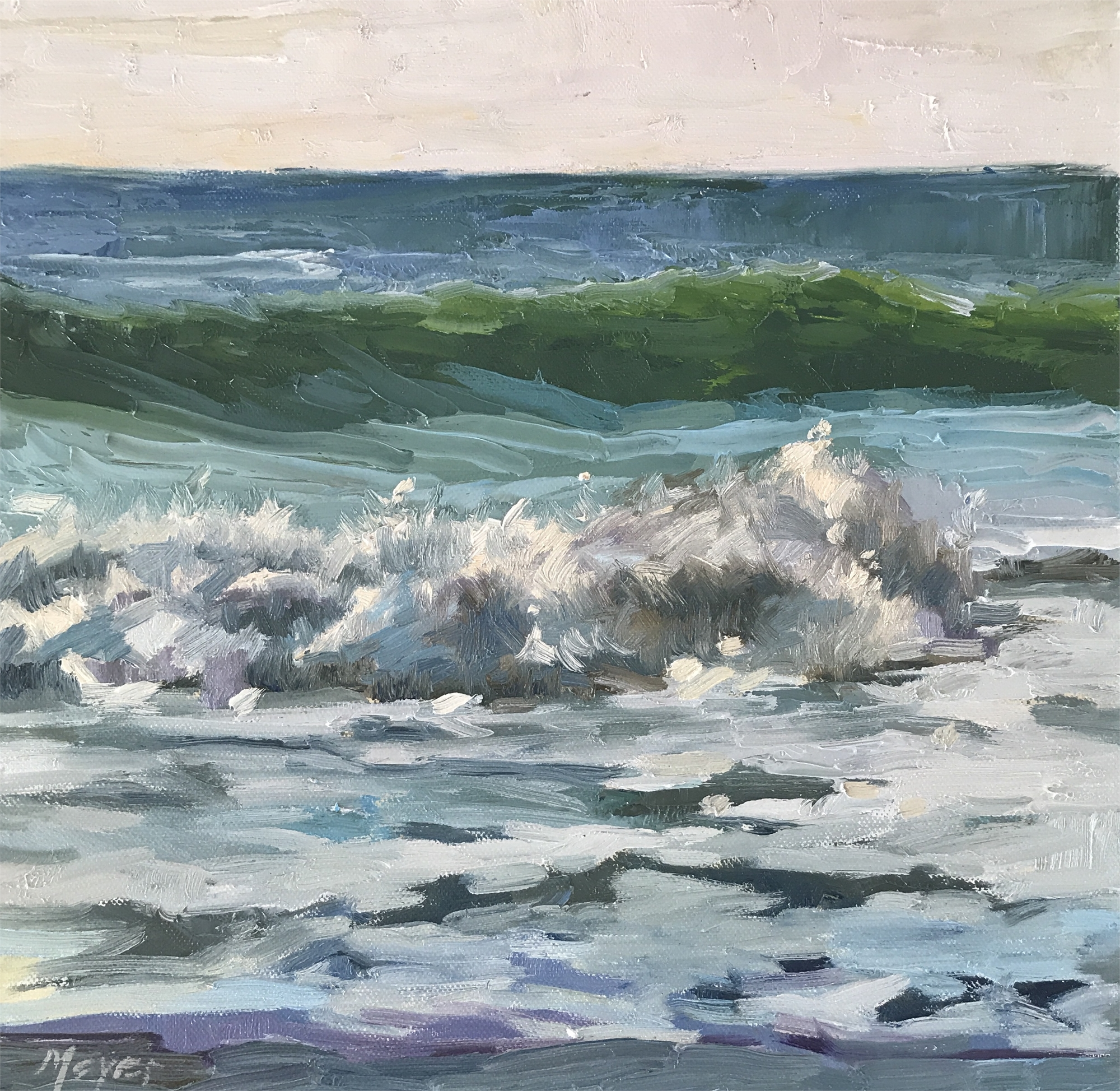Making Waves, XI by Laurie Meyer