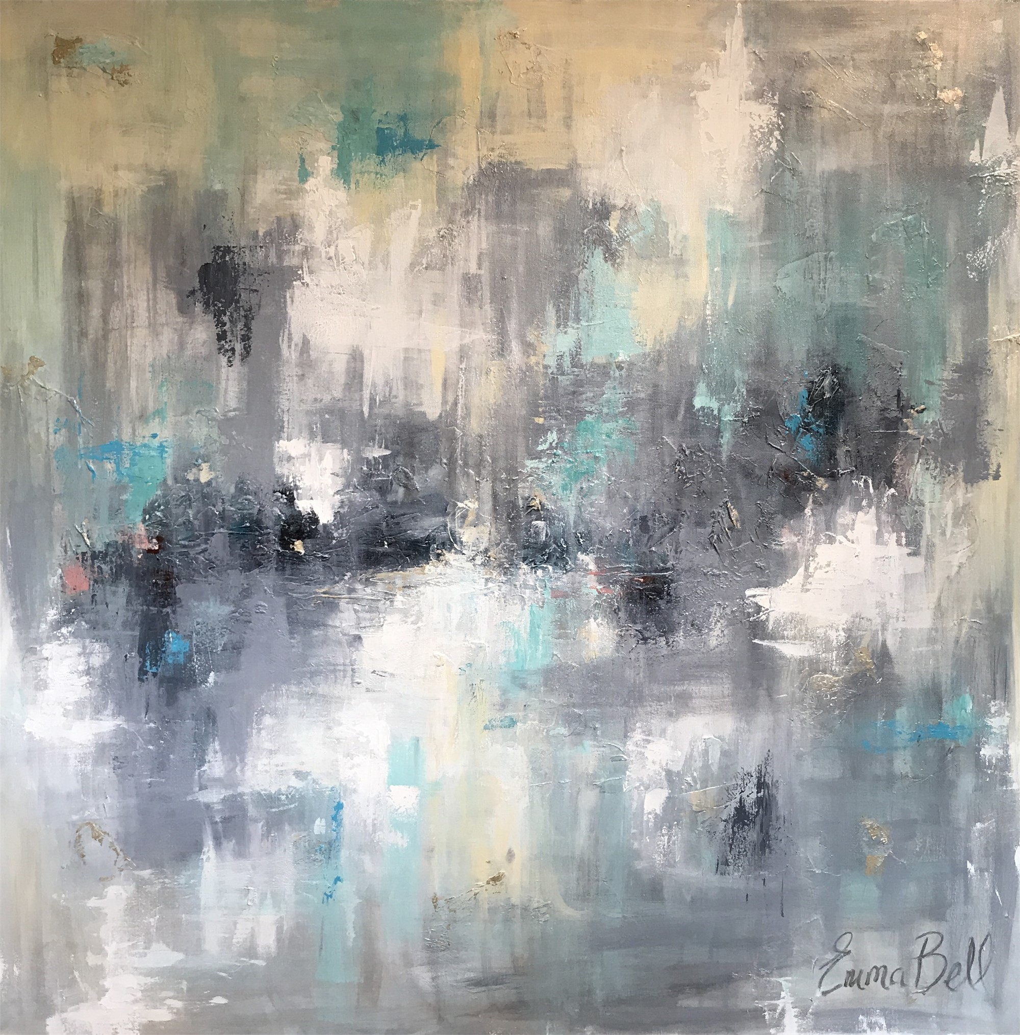 Aqua Haze - Sold by Emma Bell