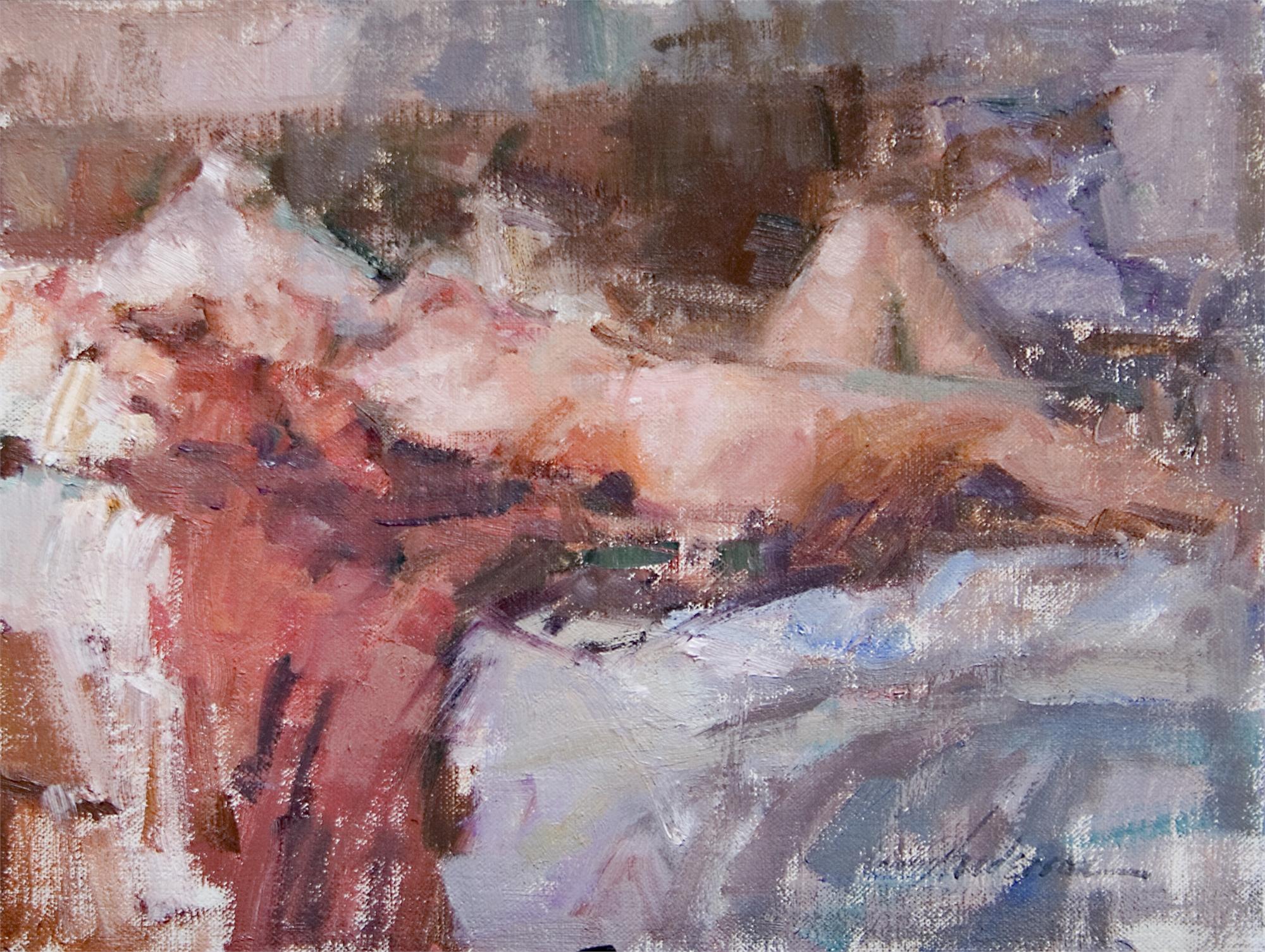 Reclining Nude by Carolyn Anderson