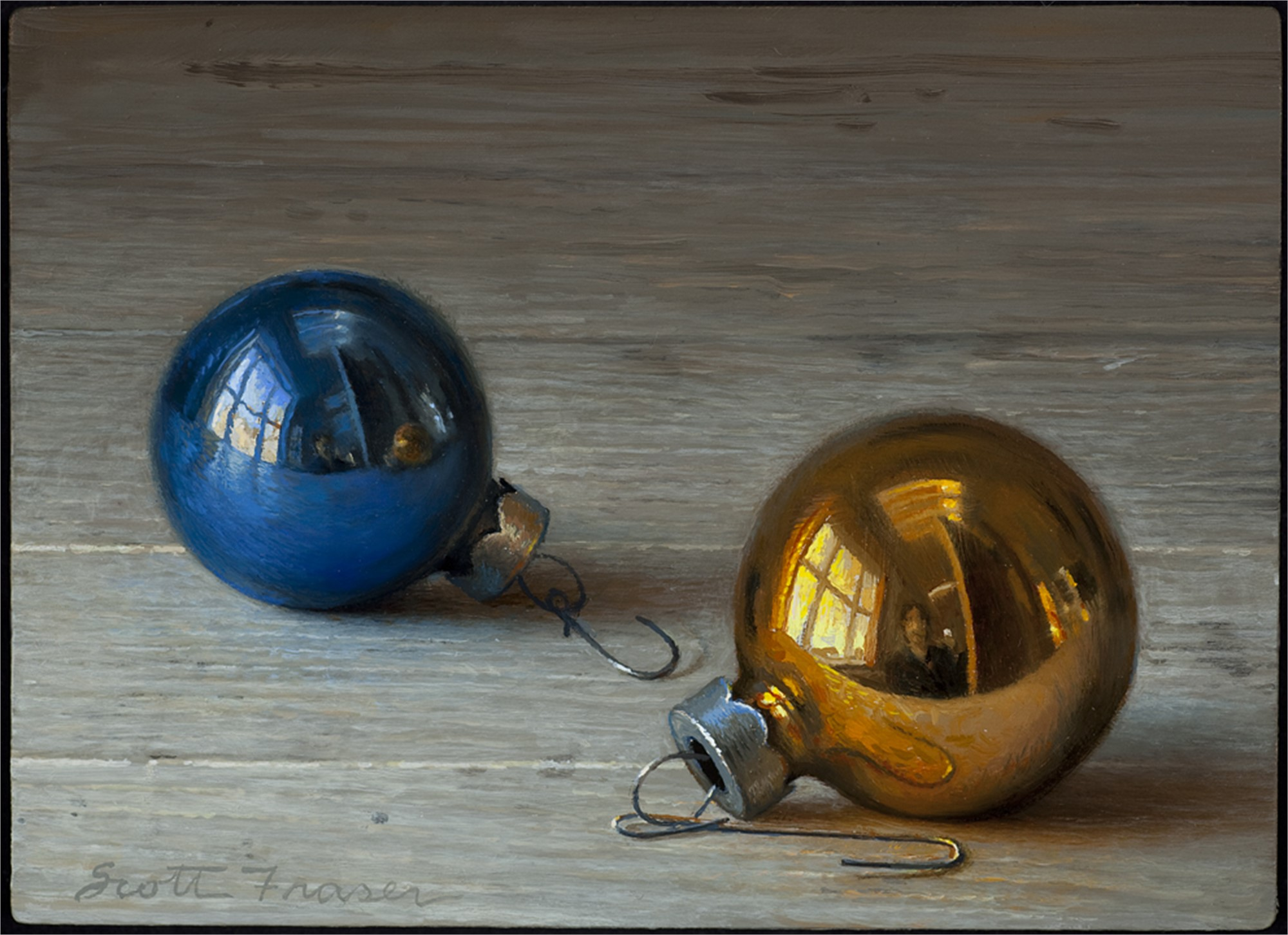 Two Ornaments by Scott Fraser