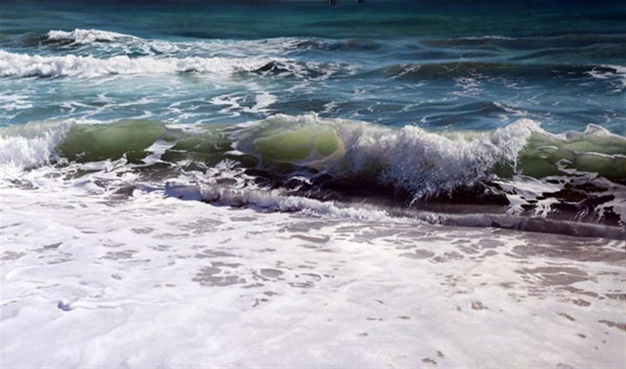 Shore Break by Vadim Klevenskiy