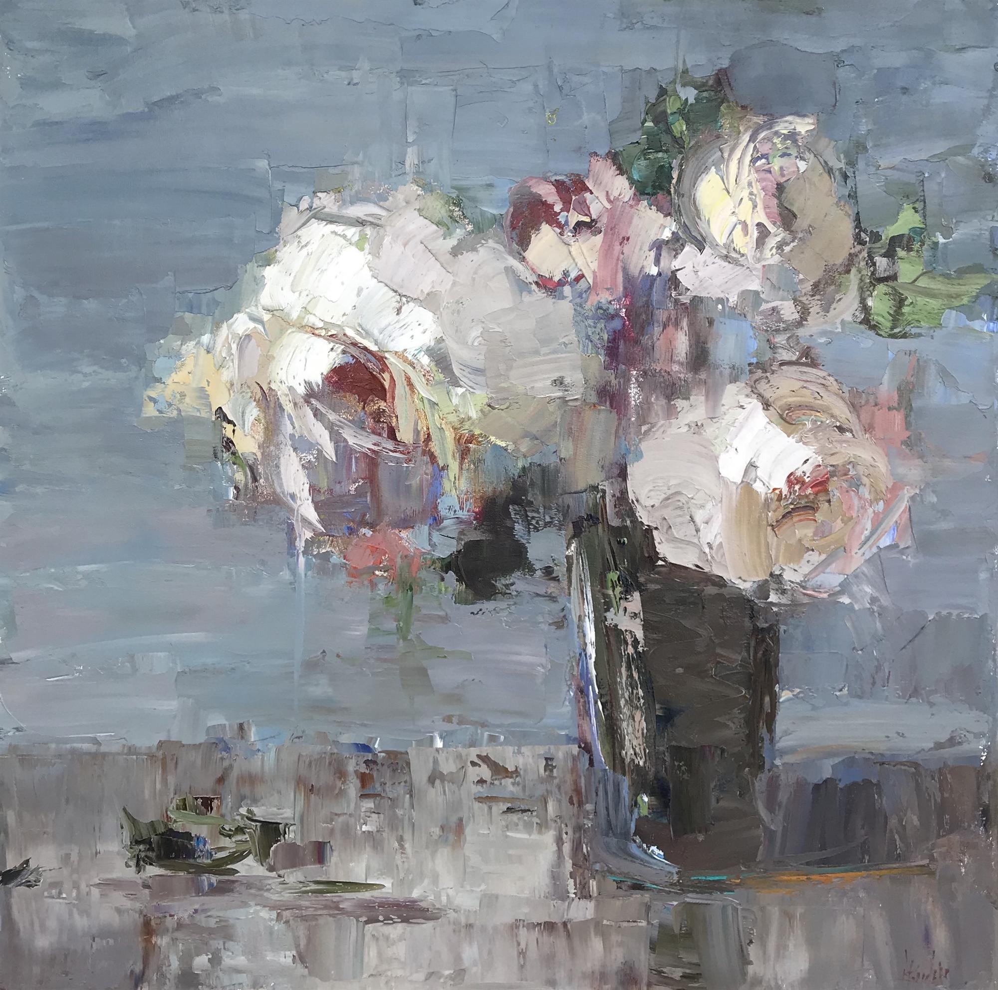 Peonies by Barbara Flowers