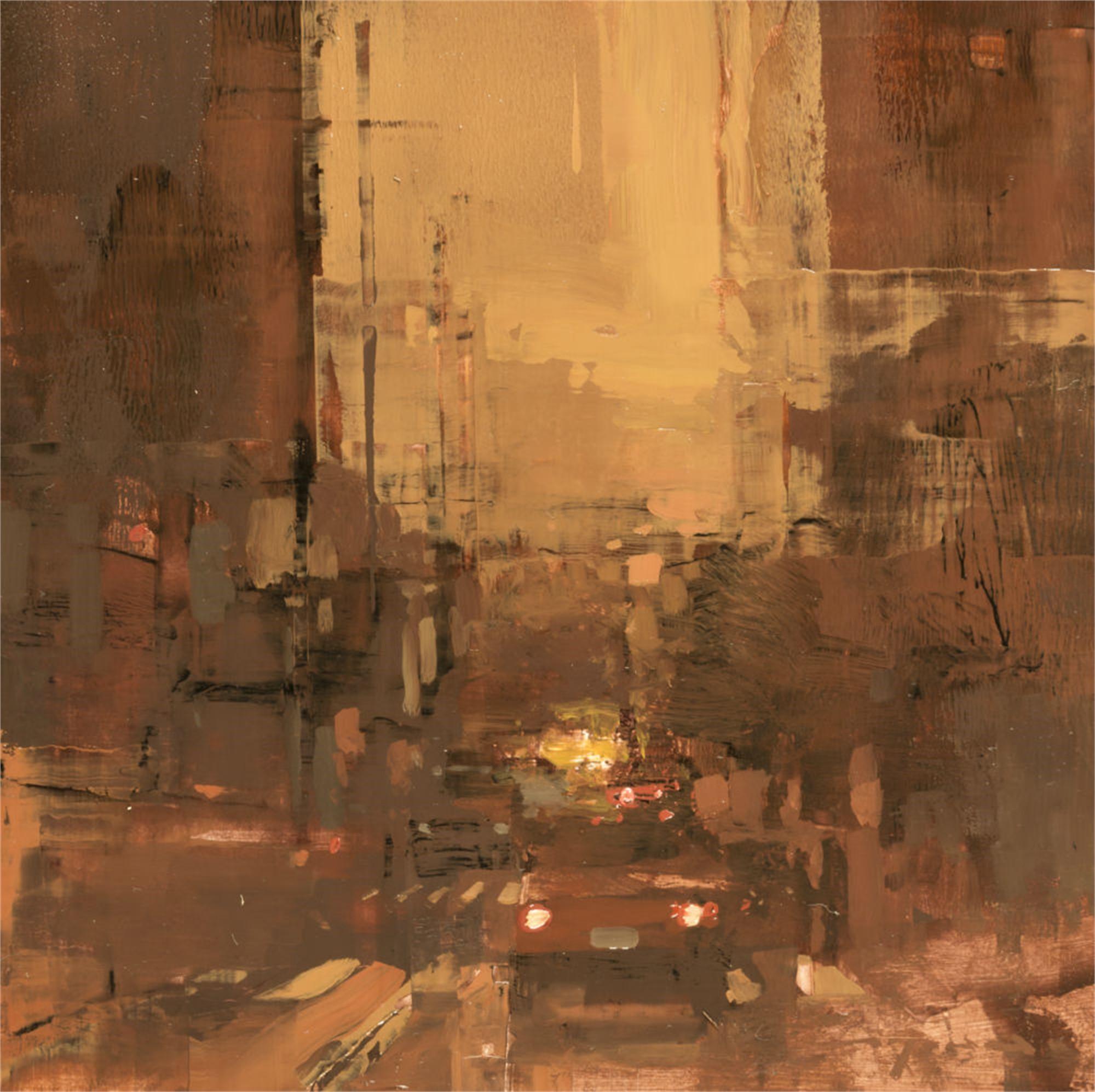 Cityscape - Composed Form Study no. 28 by Jeremy Mann