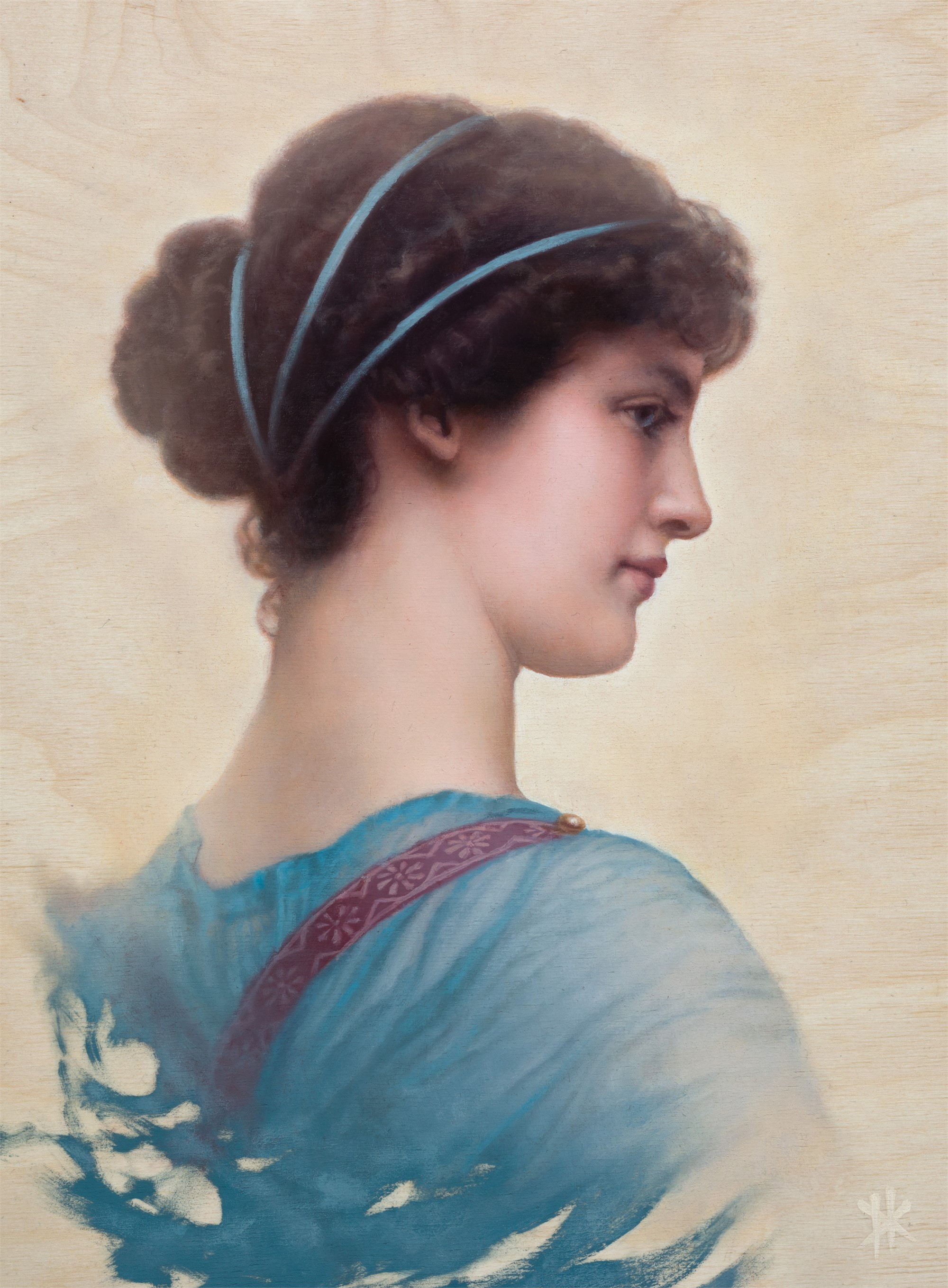 A Classical Beauty (From Godward) by Patrick Kramer