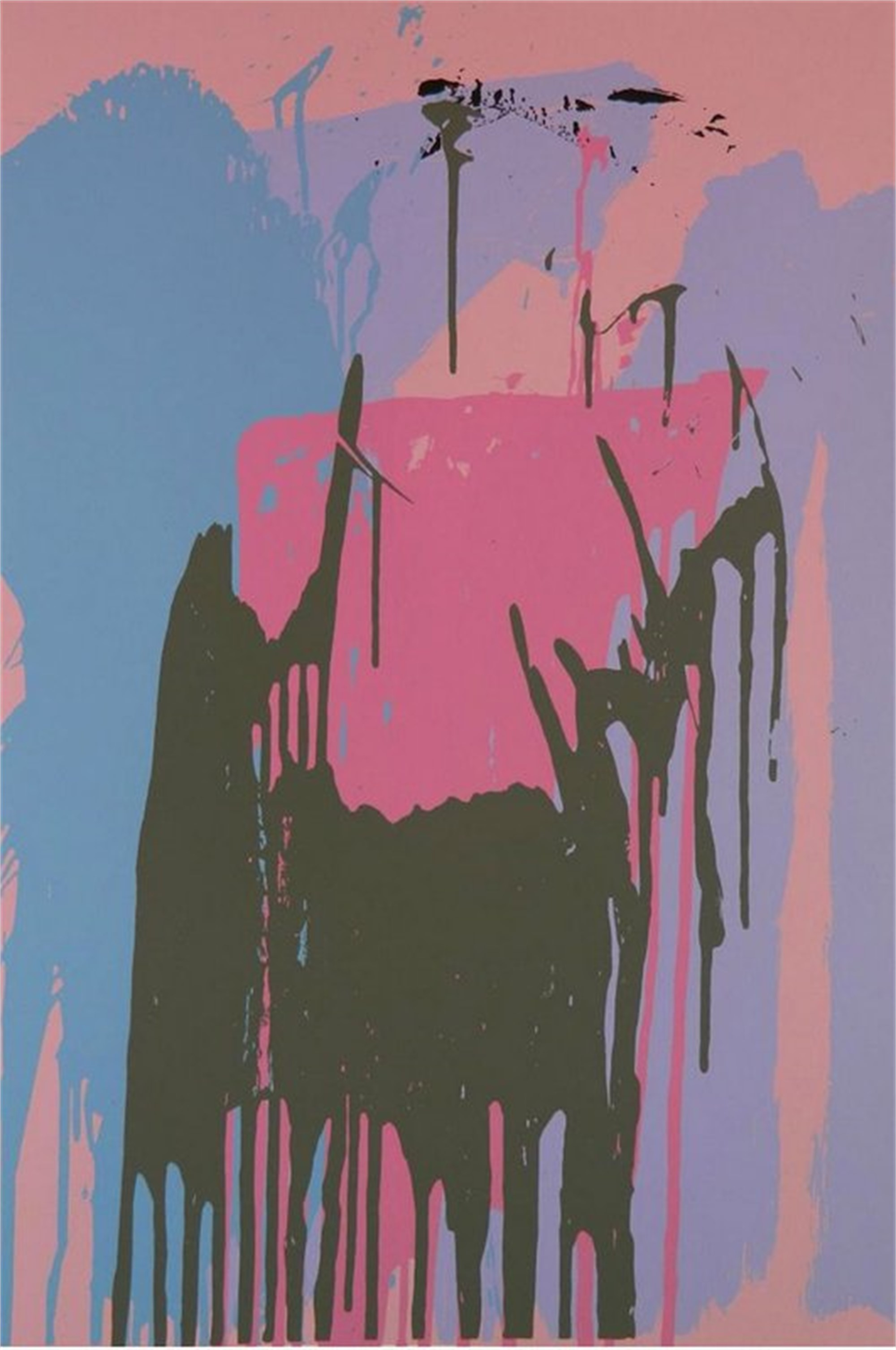 Untitled (Pink) by Larry Poons