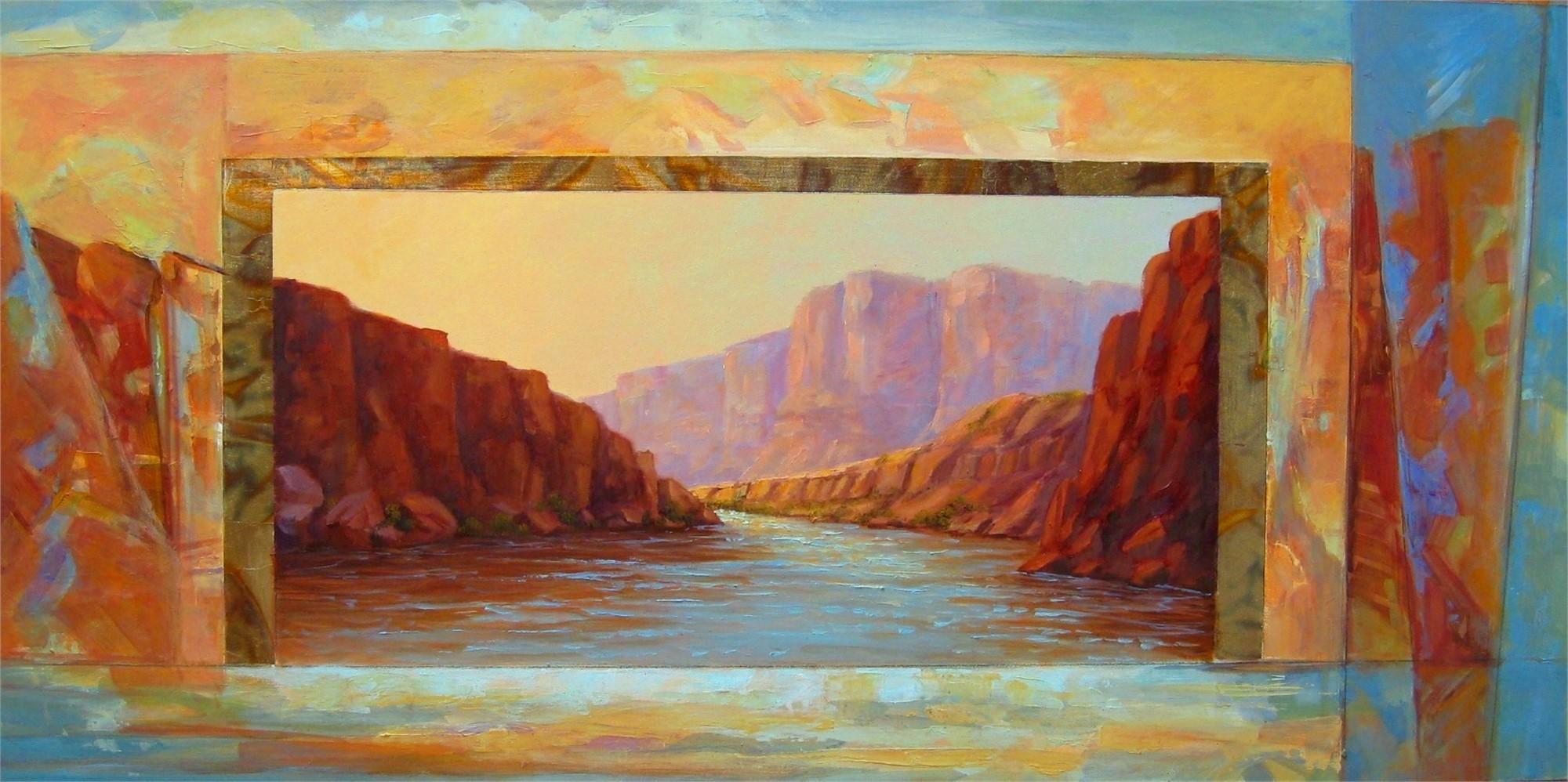 Drifting Down the Colorado by Marlys Mallét & Michael Redhawk