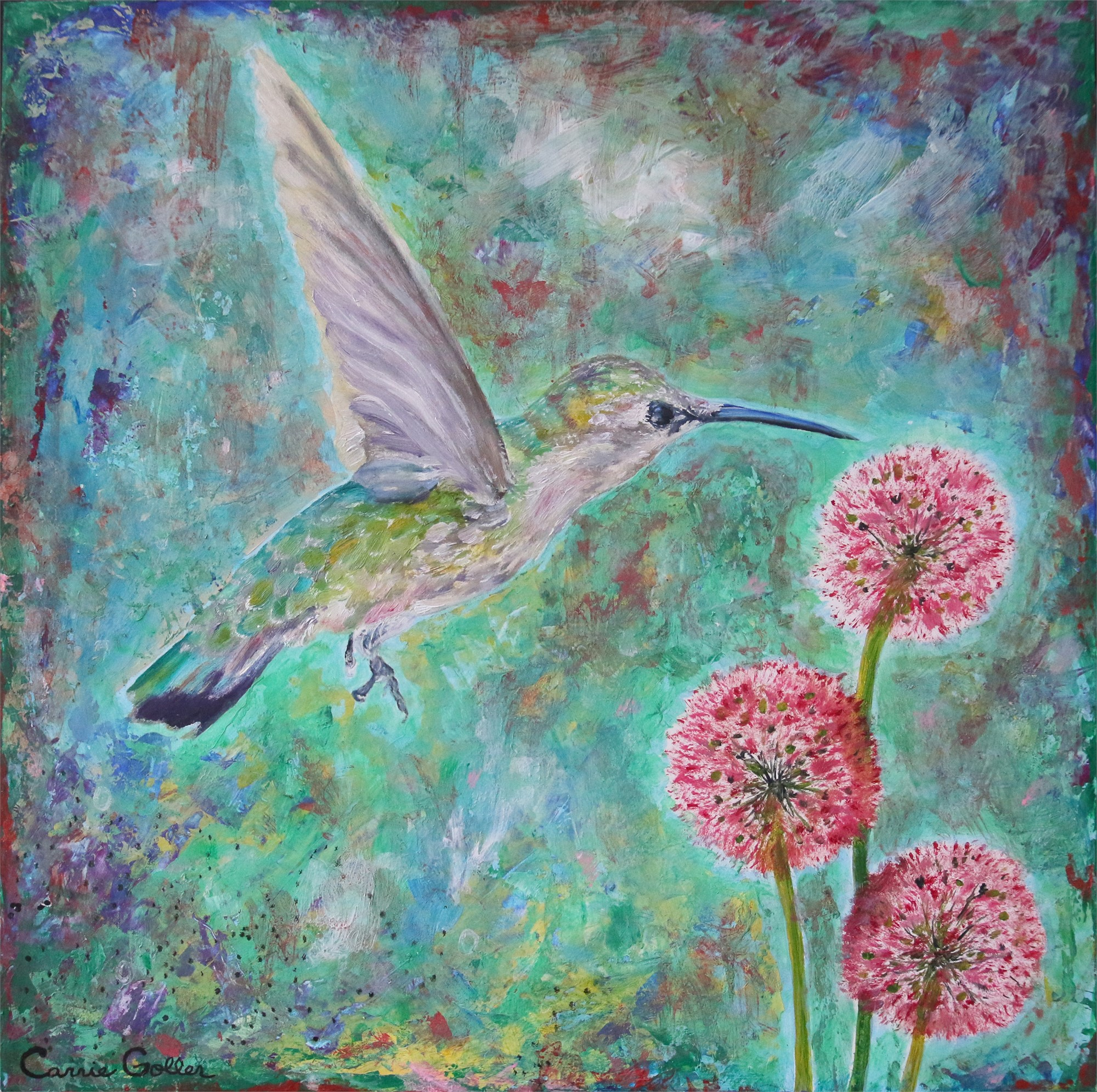 Inspector III-Hummingbird by Carrie Goller