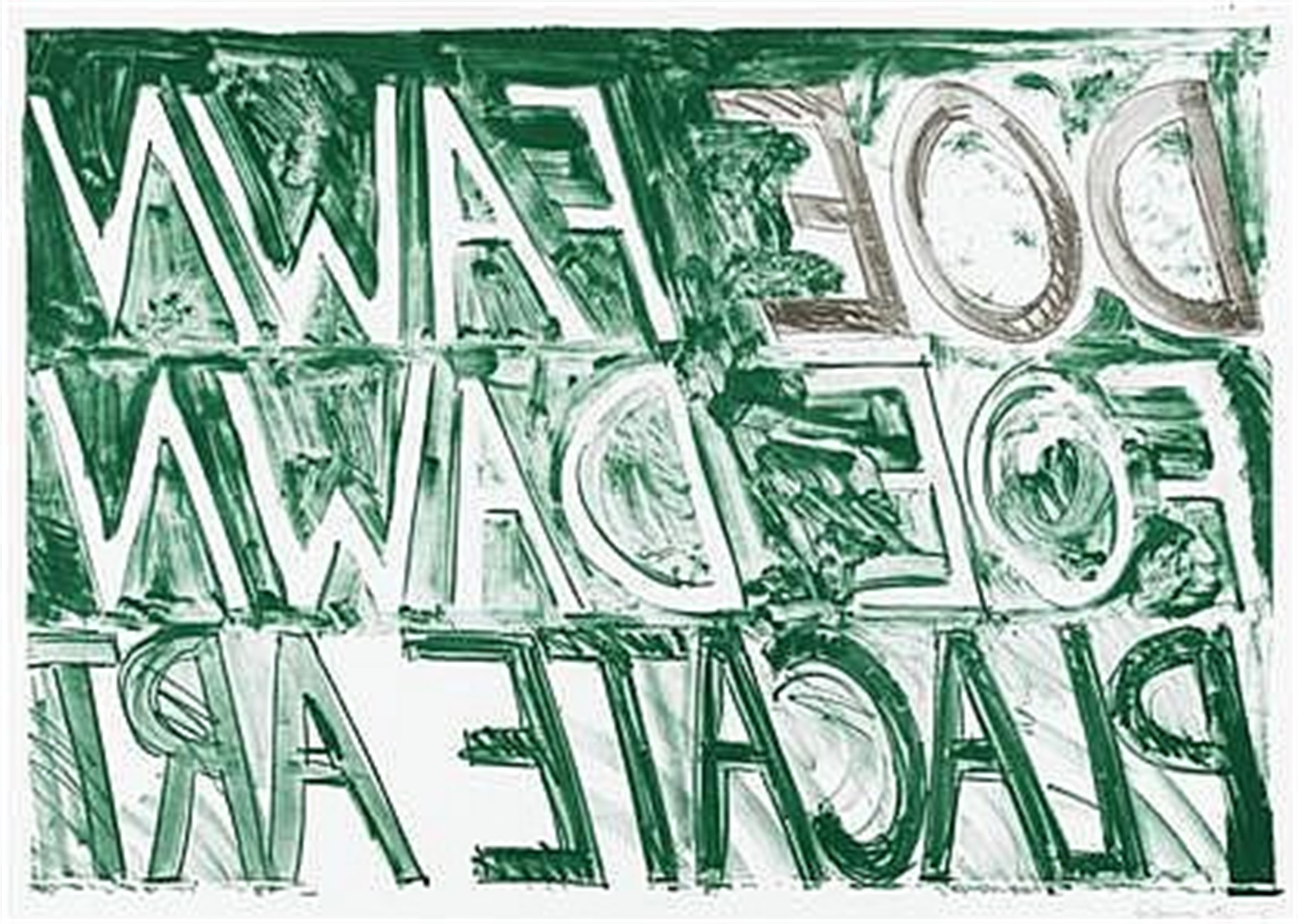 Doe Fawn by Bruce Nauman