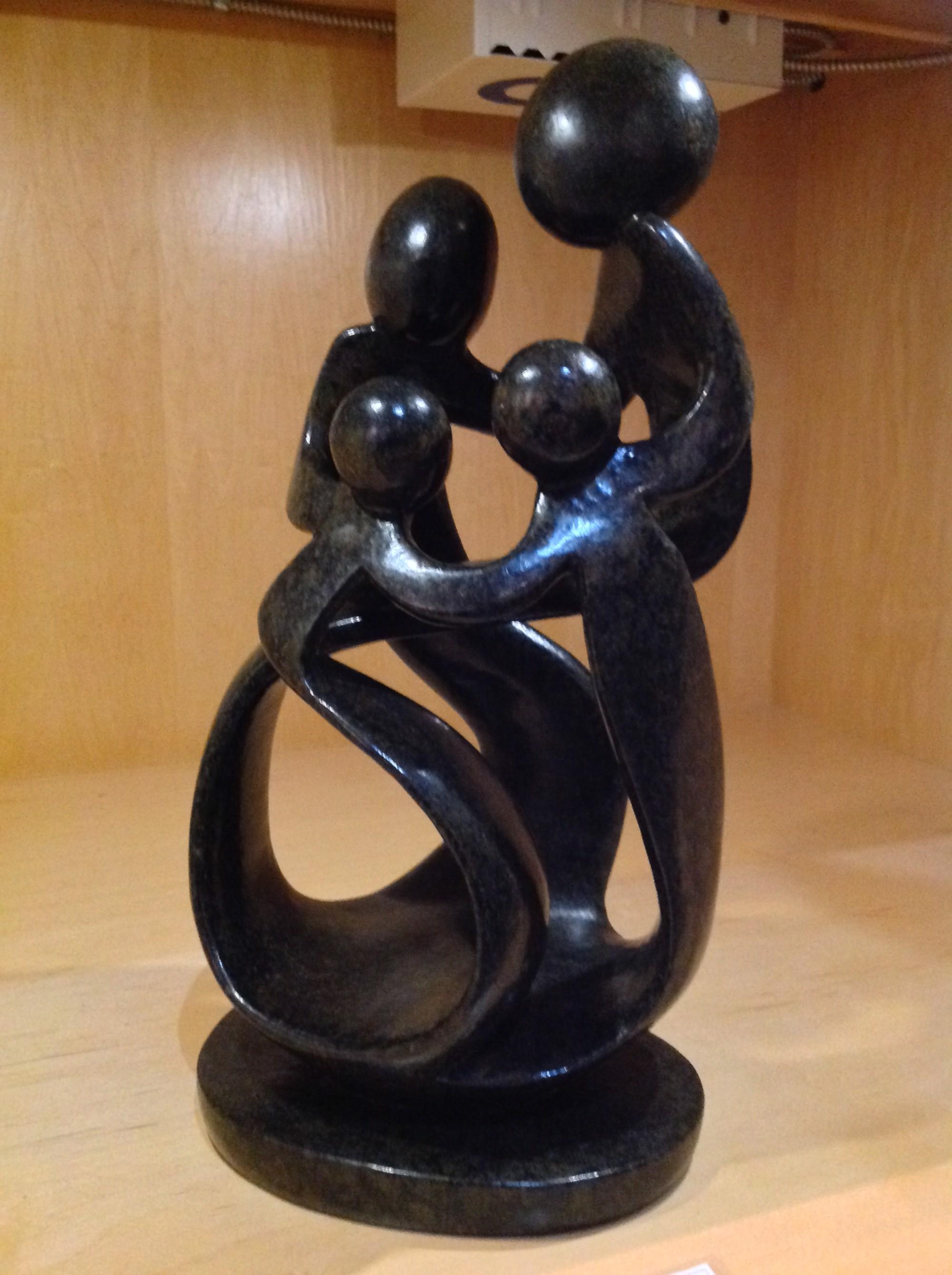 4 Family by Stone Of Shona Hubert Mandringa