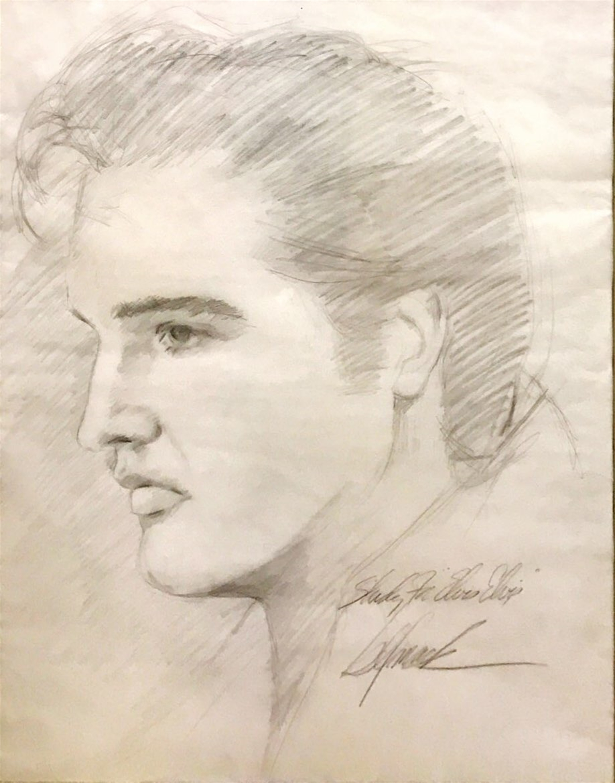 Study for Elvis by Bill Mack