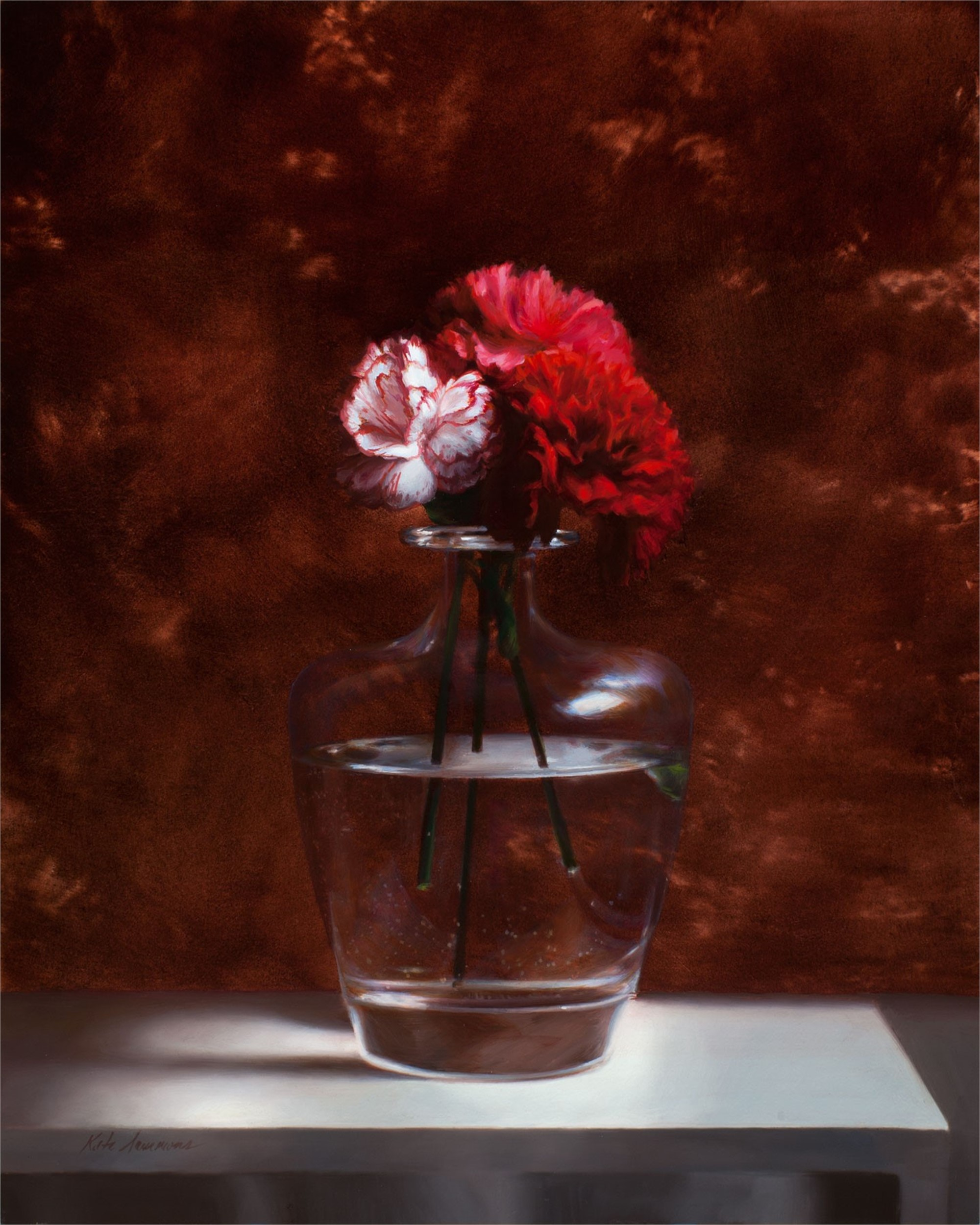 Spanish Carnations by Kate Sammons