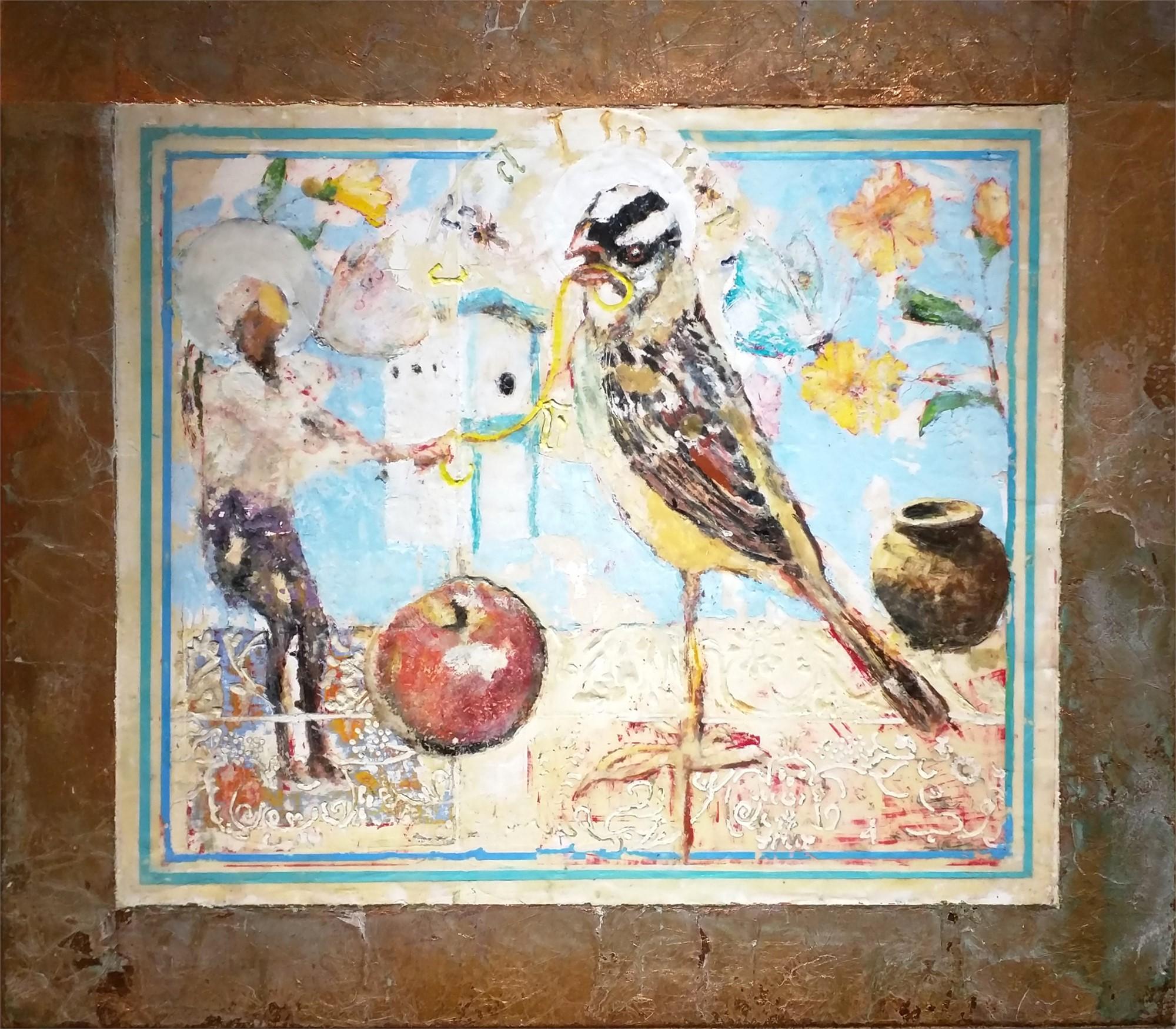 Still Life for Bird Temple #5 by Mark Gaskin