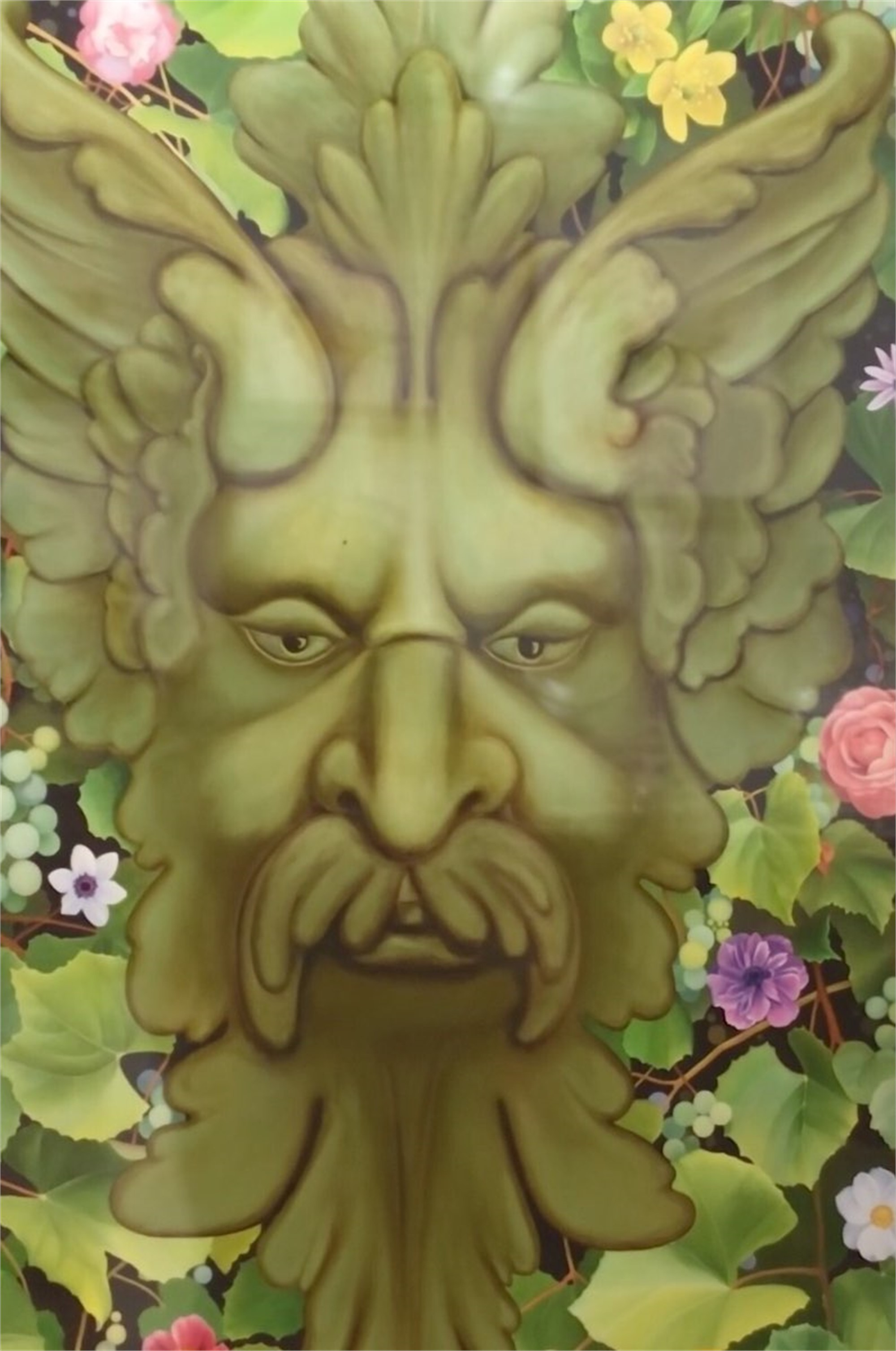 Green Man Tapestry by Steven Martin