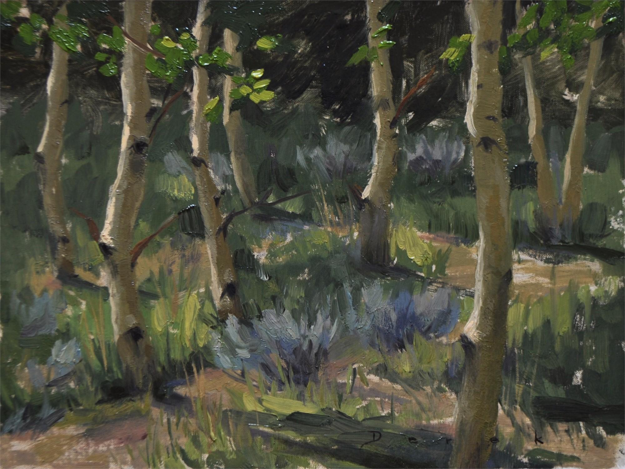 Aspen Grove by Derek Harrison