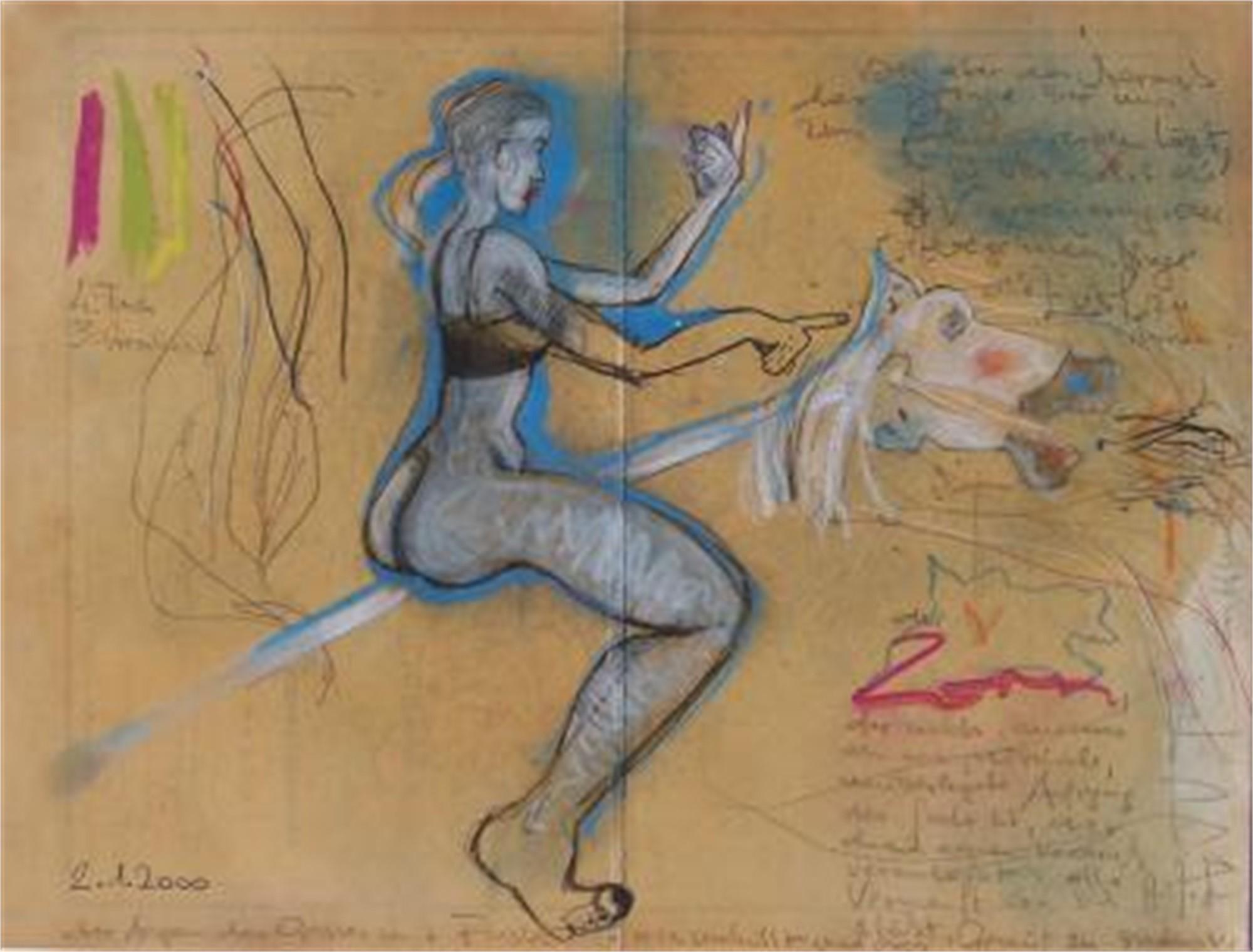 Am Pferd by Hans Joerg Fuerpass