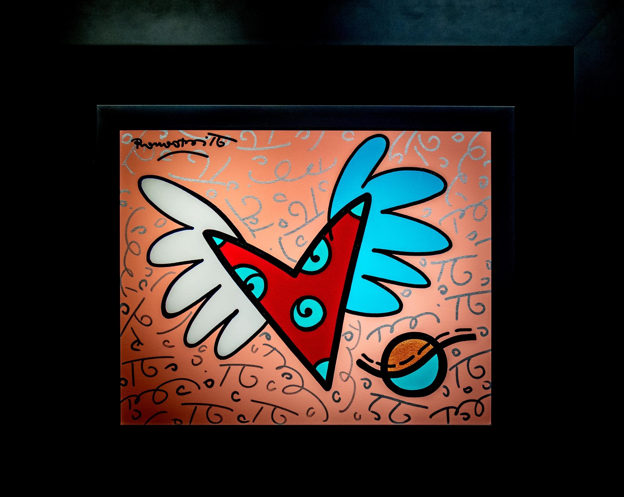 FREE LOVE by Romero Britto