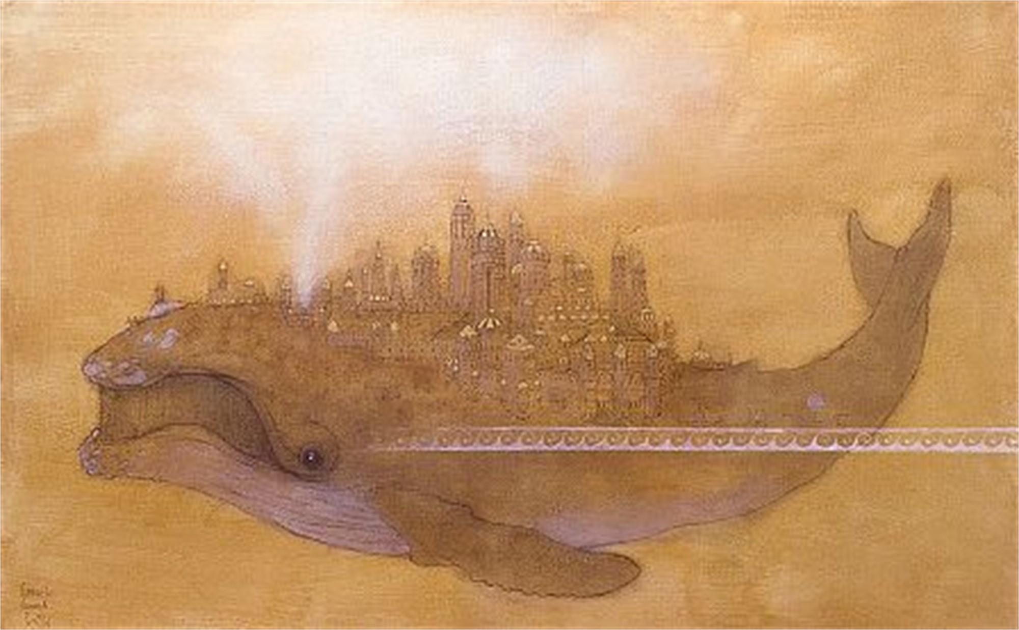 CG020 Mythical Whale by Carlos Gomila