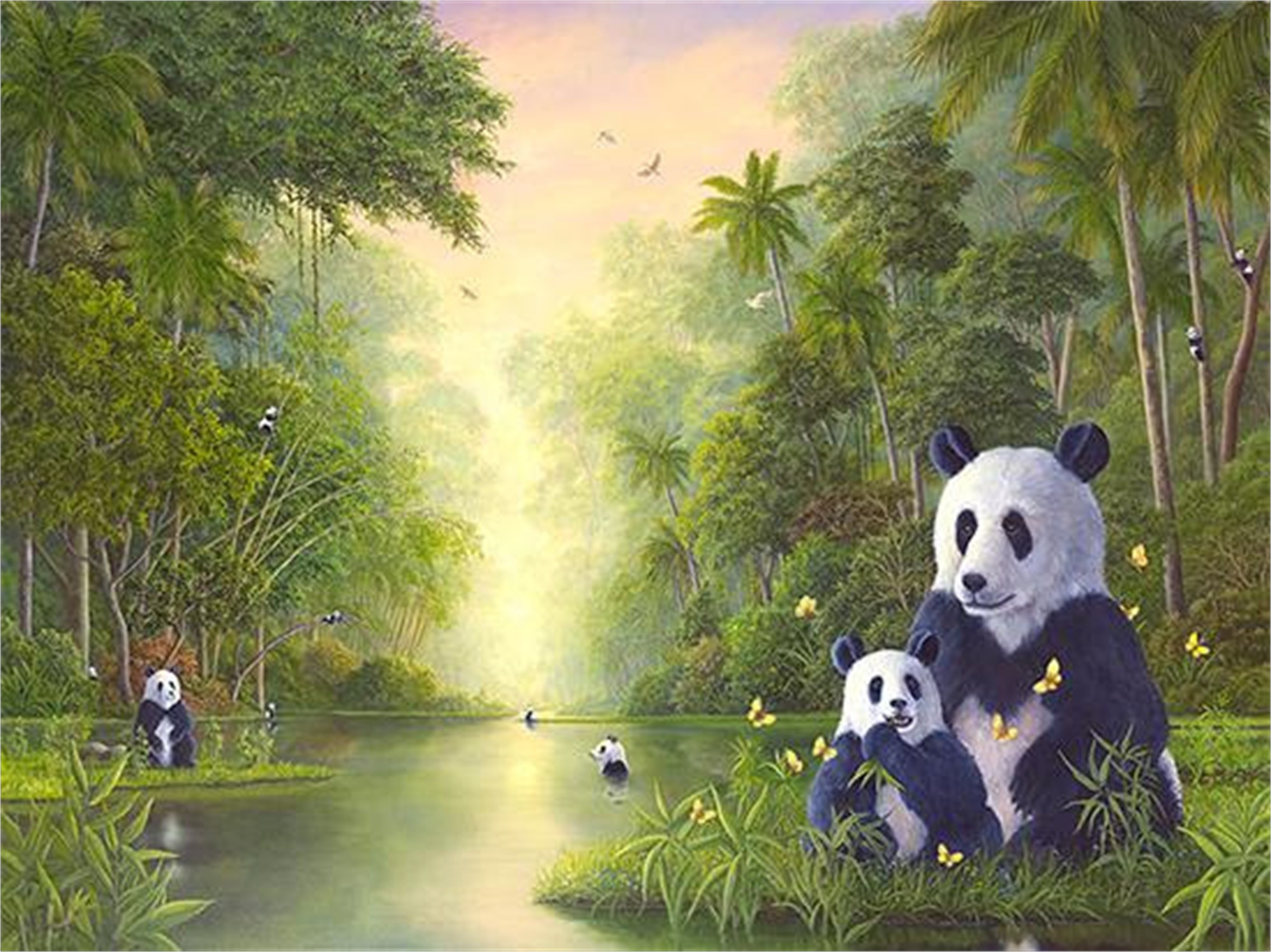 Bamboo River, The (Small Works) by Robert Bissell