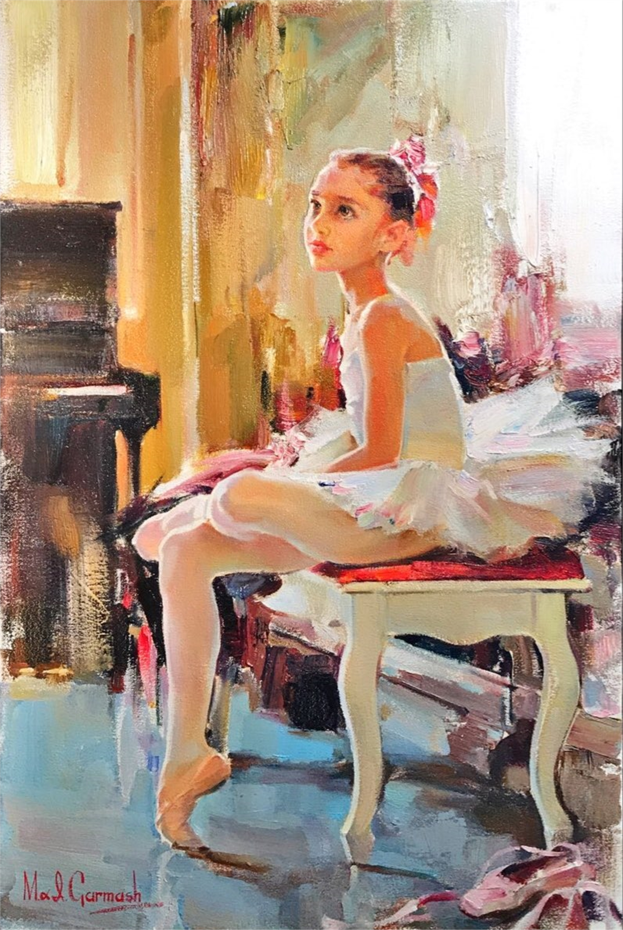 Young Dancer by Michael And Inessa Garmash