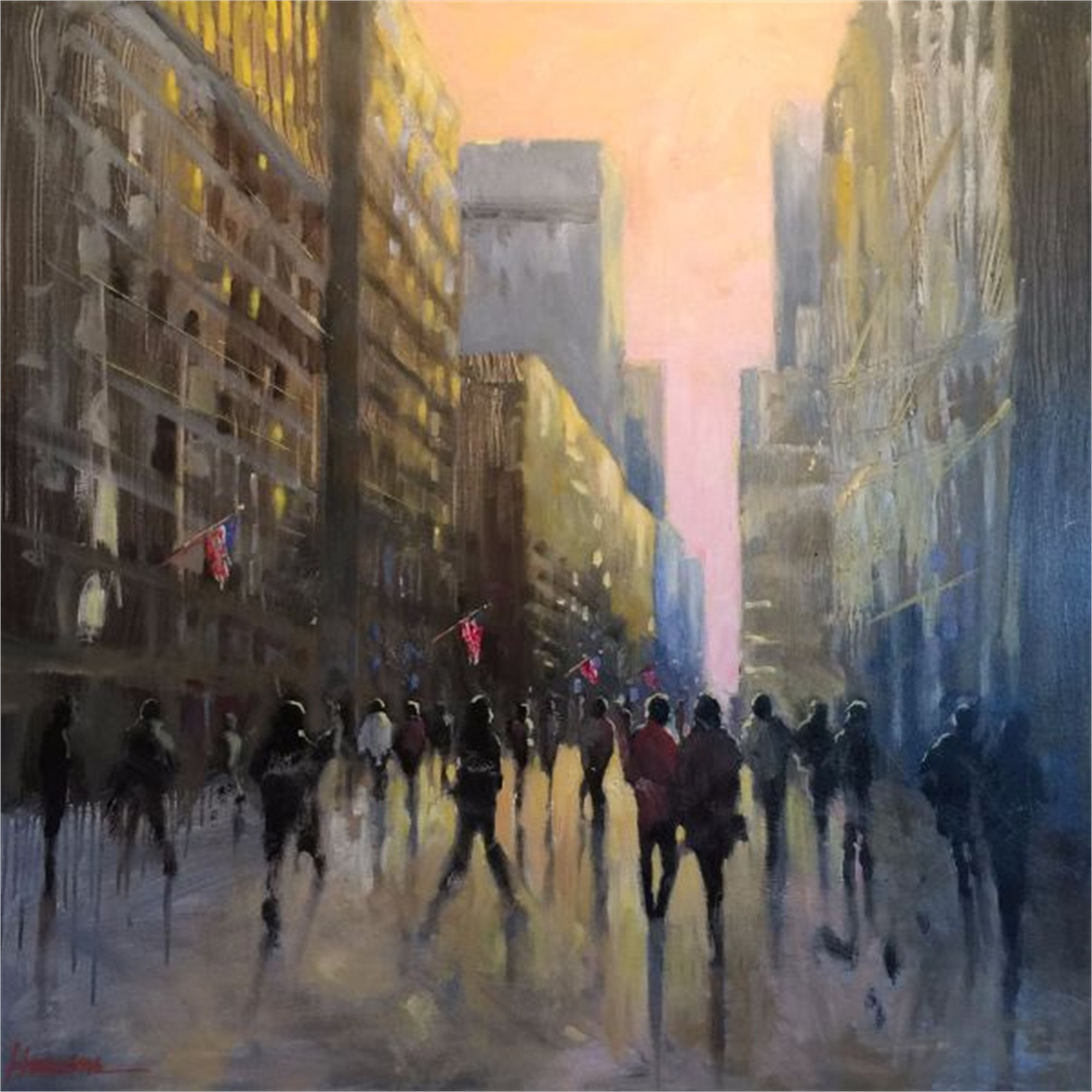 NYC Time by Betsy Havens