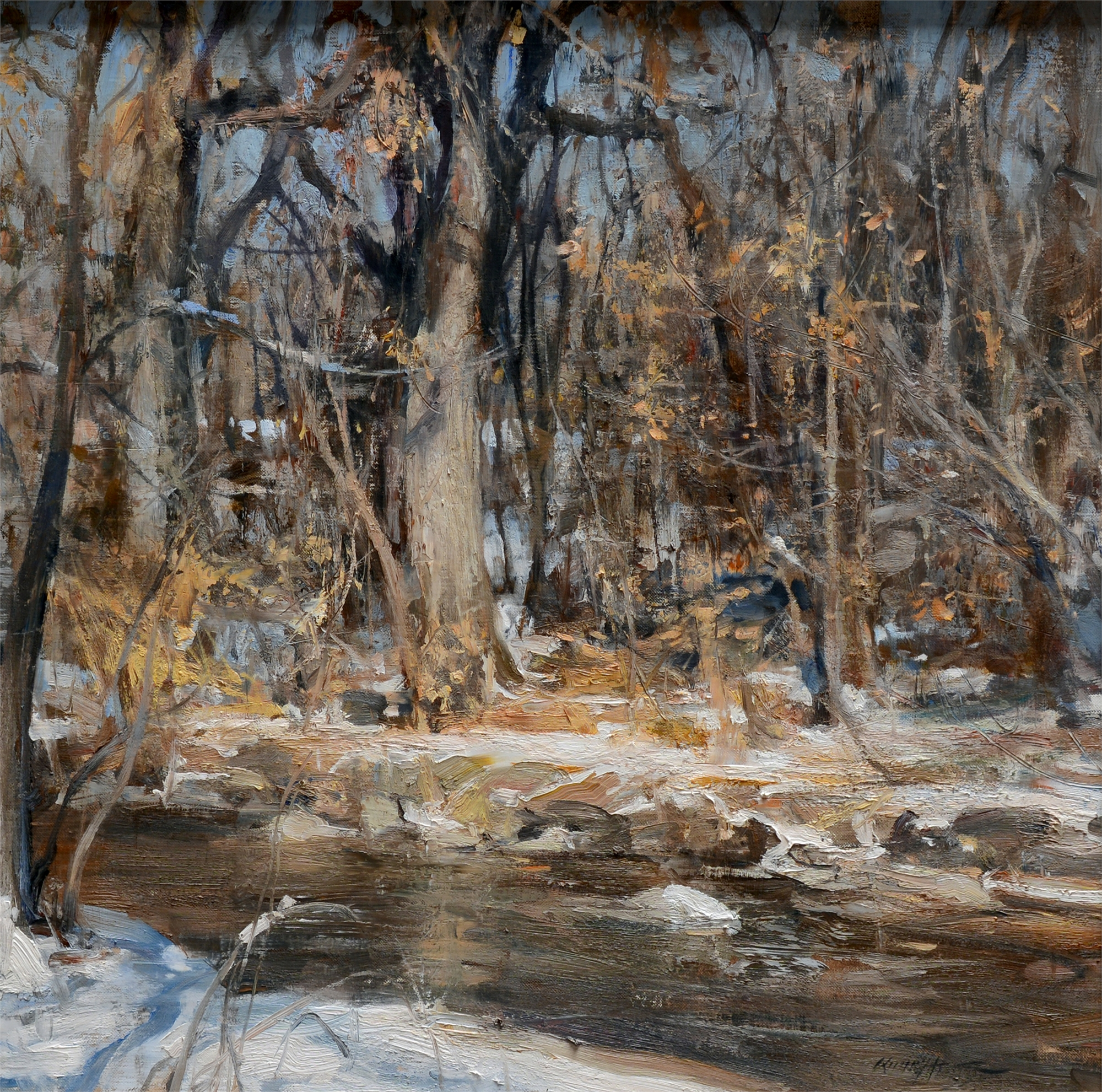 Bank of Cherry Creek by Quang Ho
