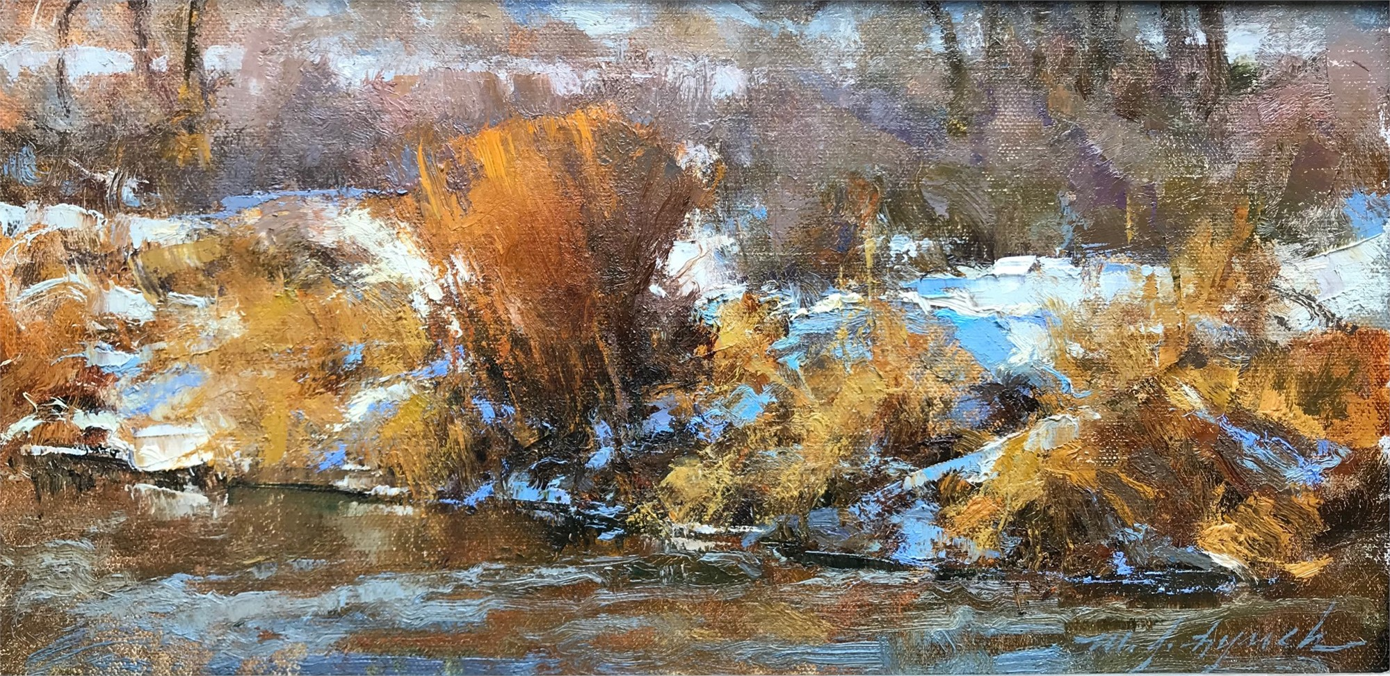 Winter Willow by Michael J Lynch