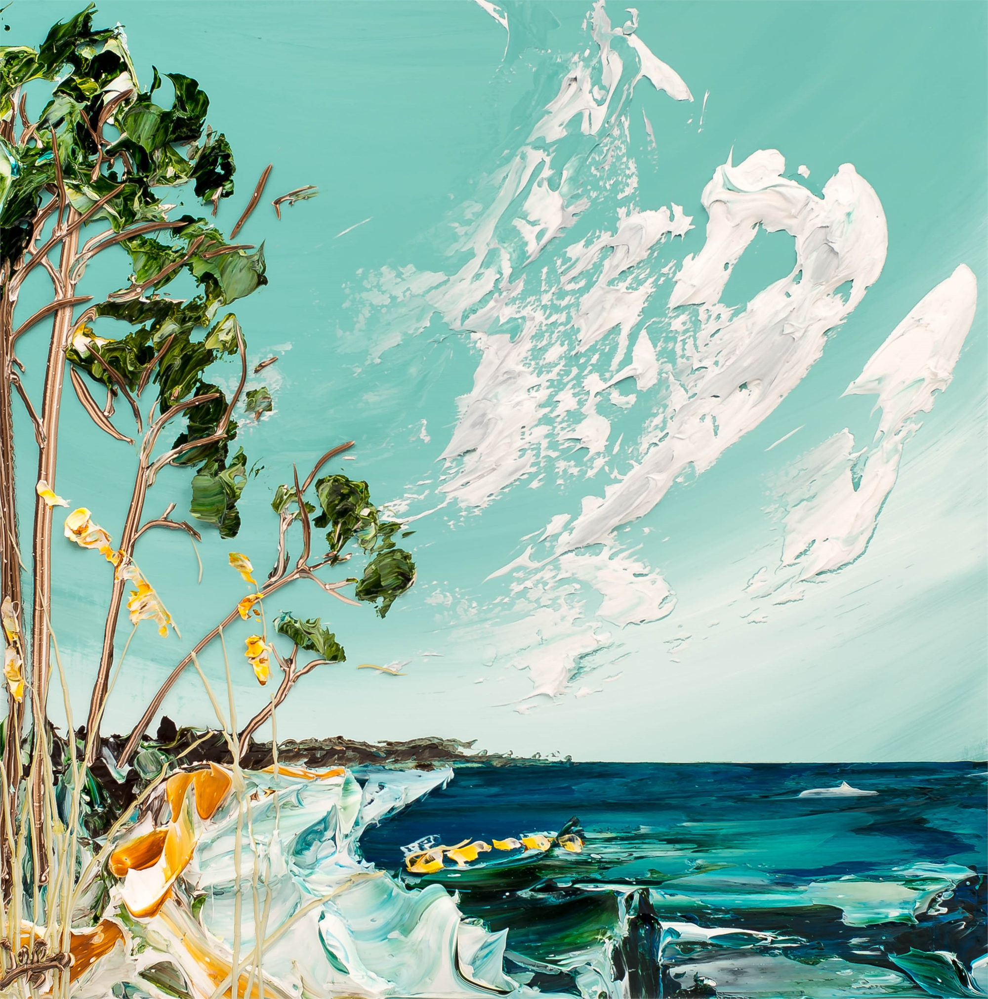 Seascape by JUSTIN GAFFREY