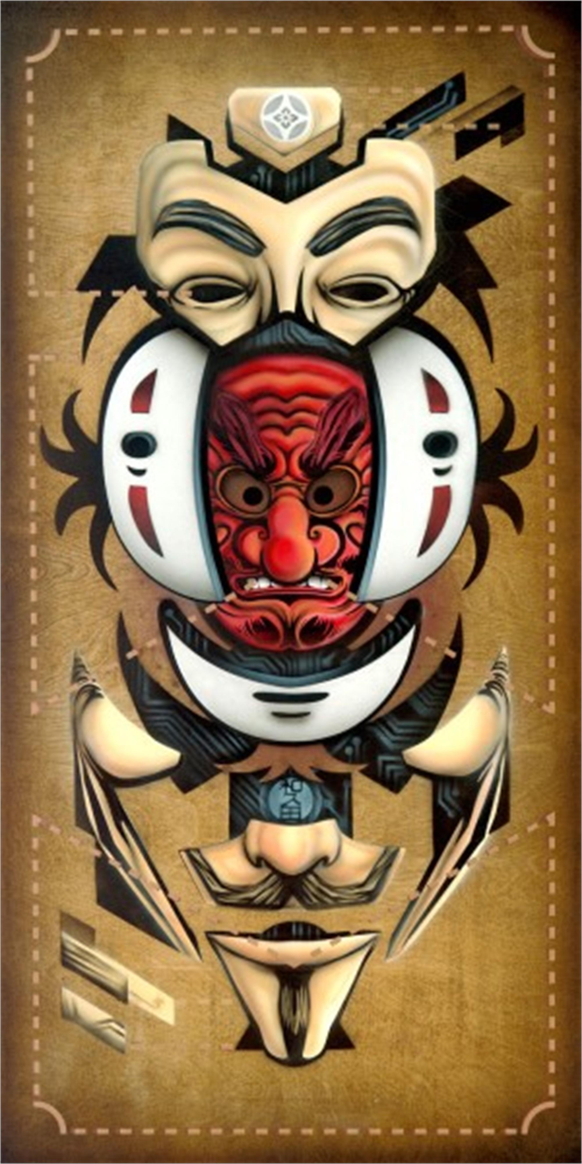 Anatomy of Anonimity: (Physiognomies III) by Jonathan Wakuda Fischer