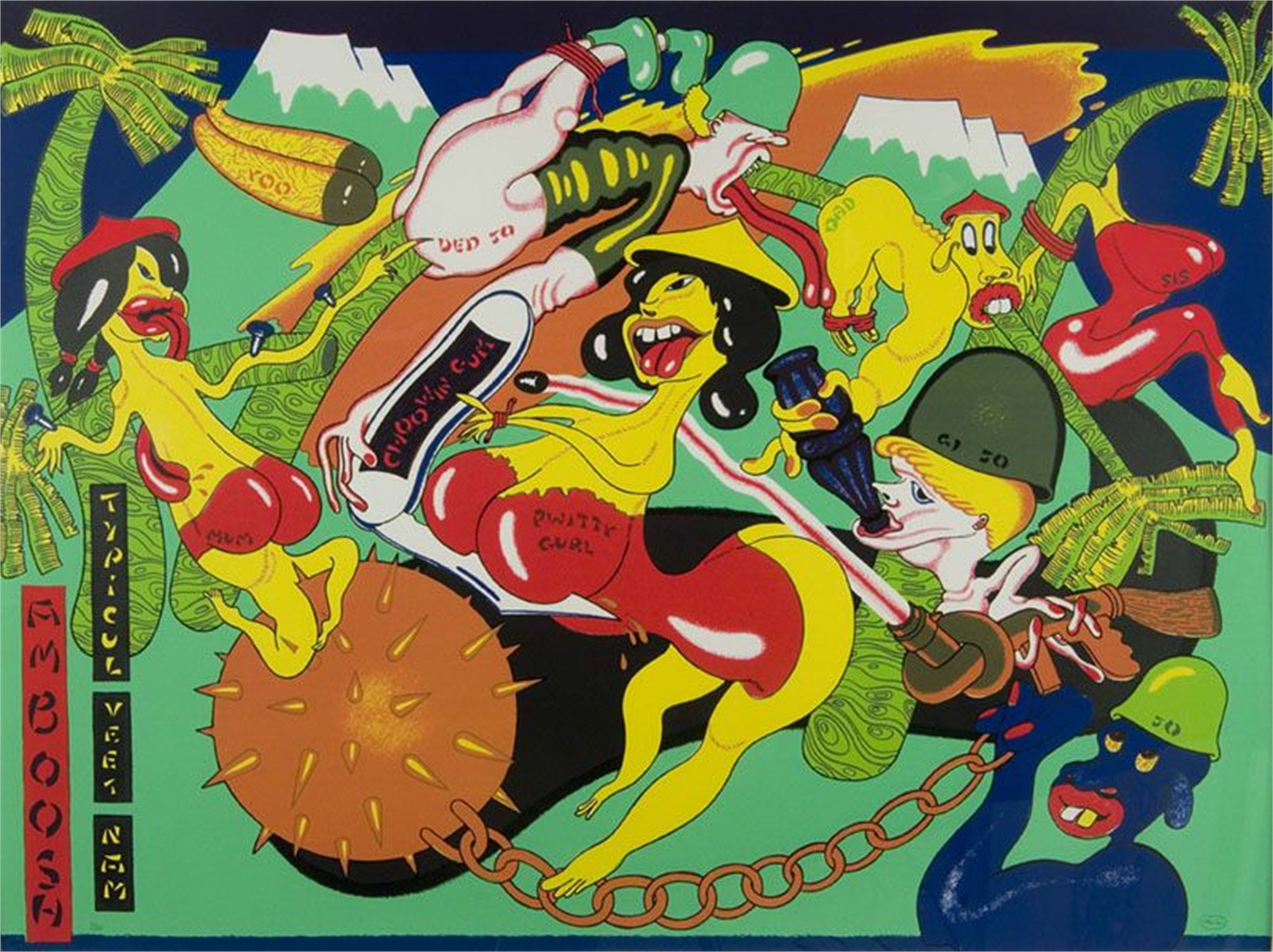 Amboosh by Peter Saul