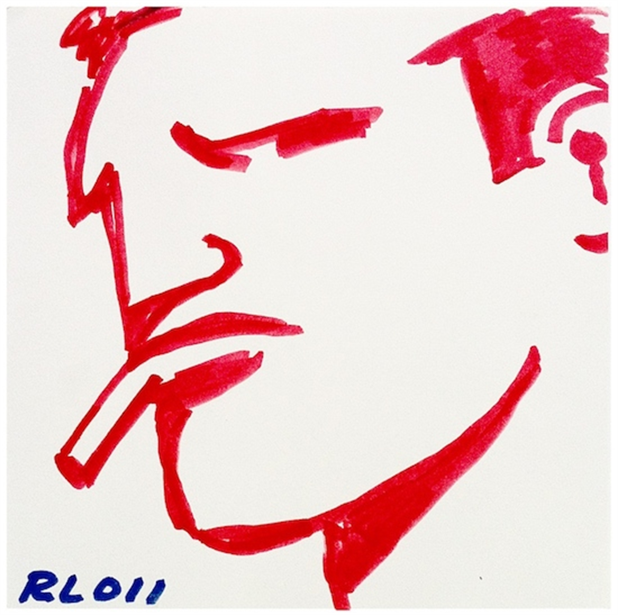 Untitled (Red Brute) by Robert Loughlin