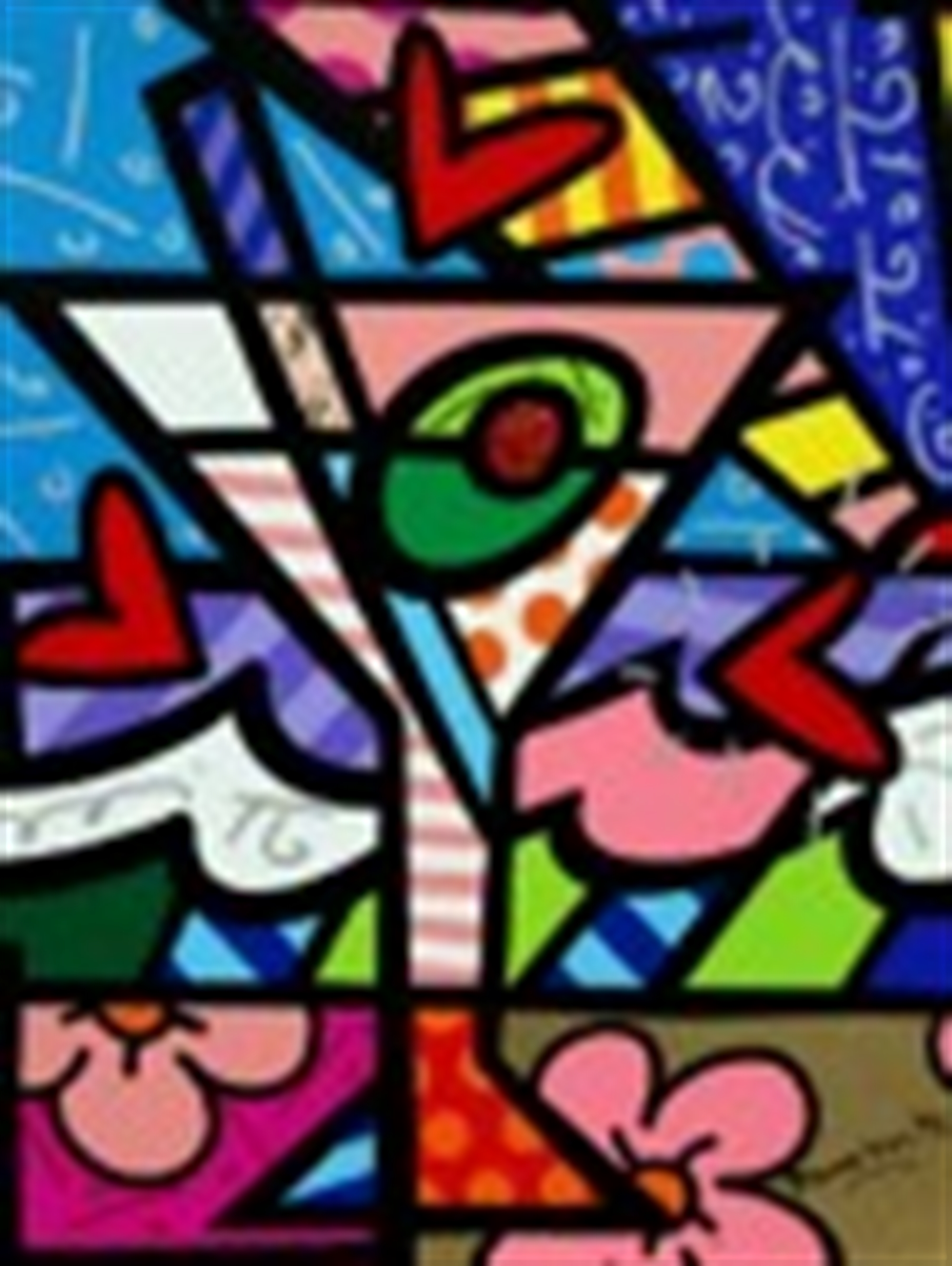 MARTINI by Romero Britto