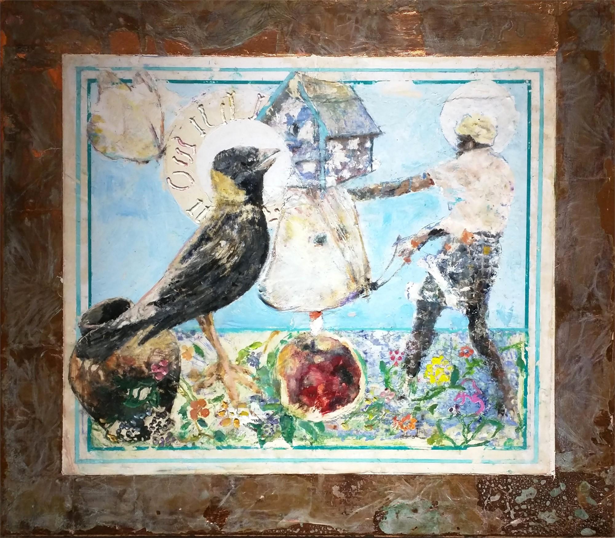 Still Life for Bird Temple #9 by Mark Gaskin