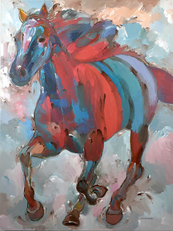 Spirit Runner by Hooshang Khorasani