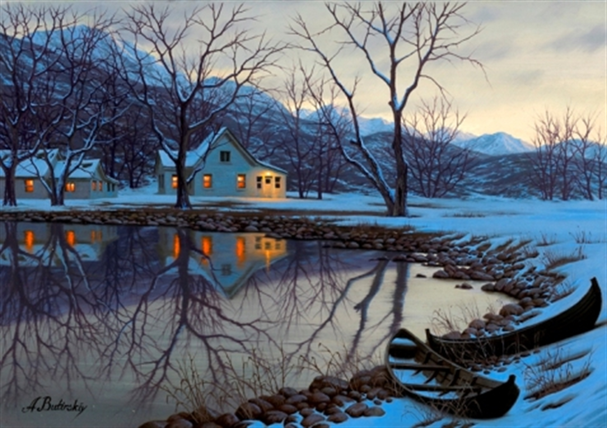 The Lake House by Alexei Butirskiy