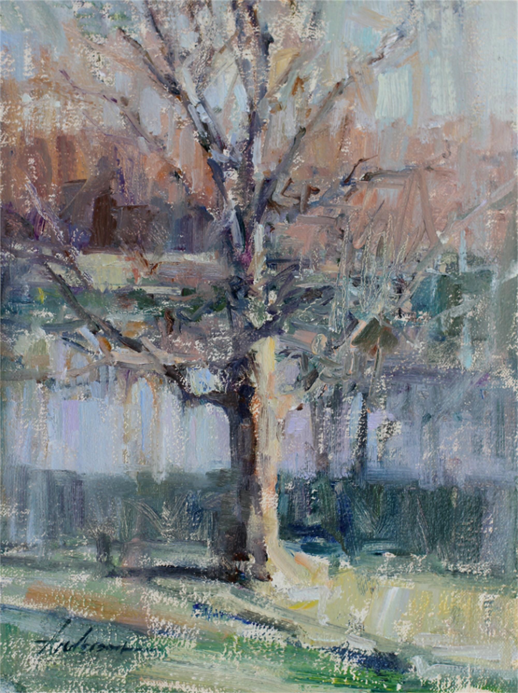 New Harmony Tree by Carolyn Anderson