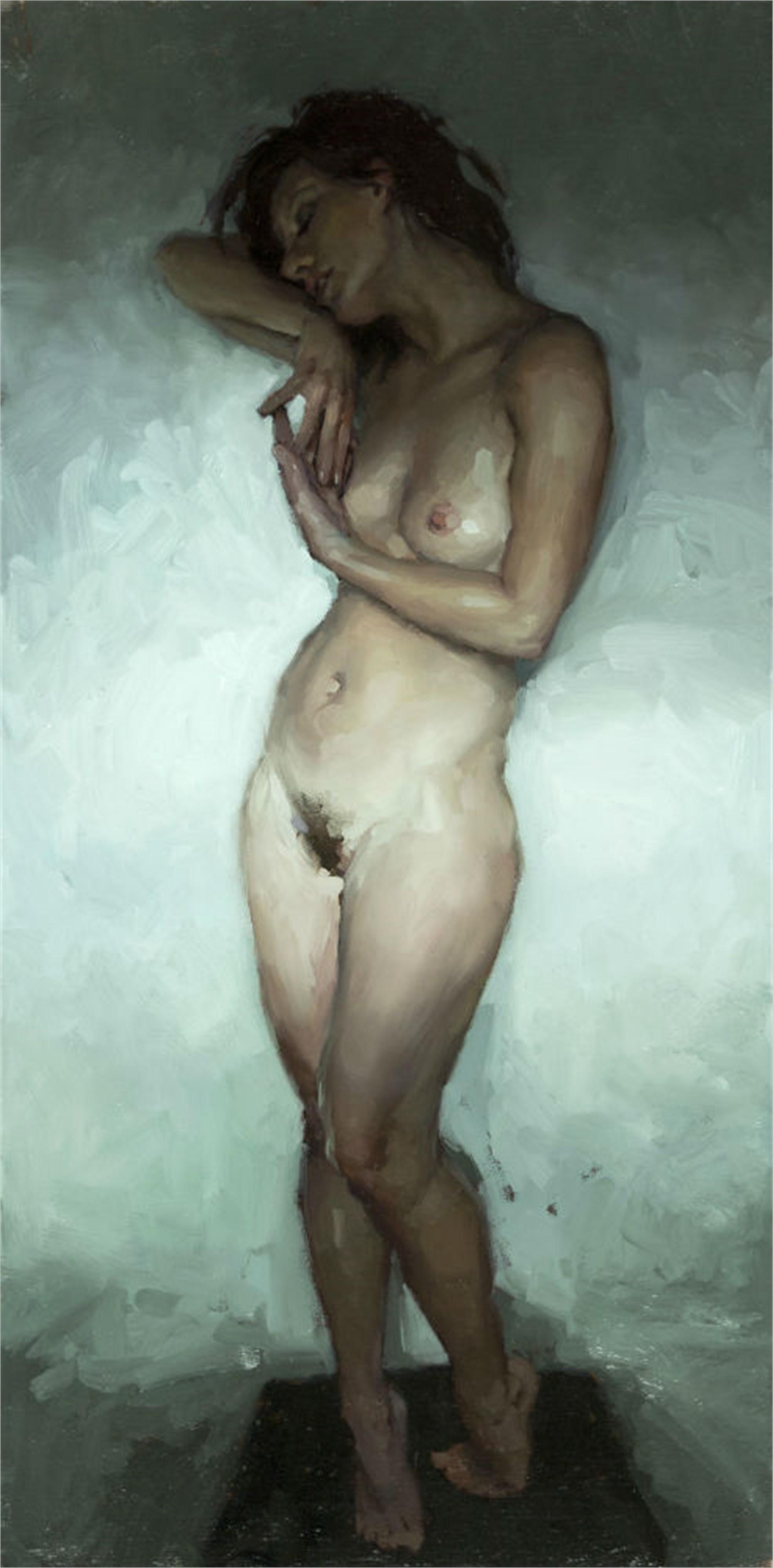 Nude Study, Window Light No. 2 by Jeremy Mann