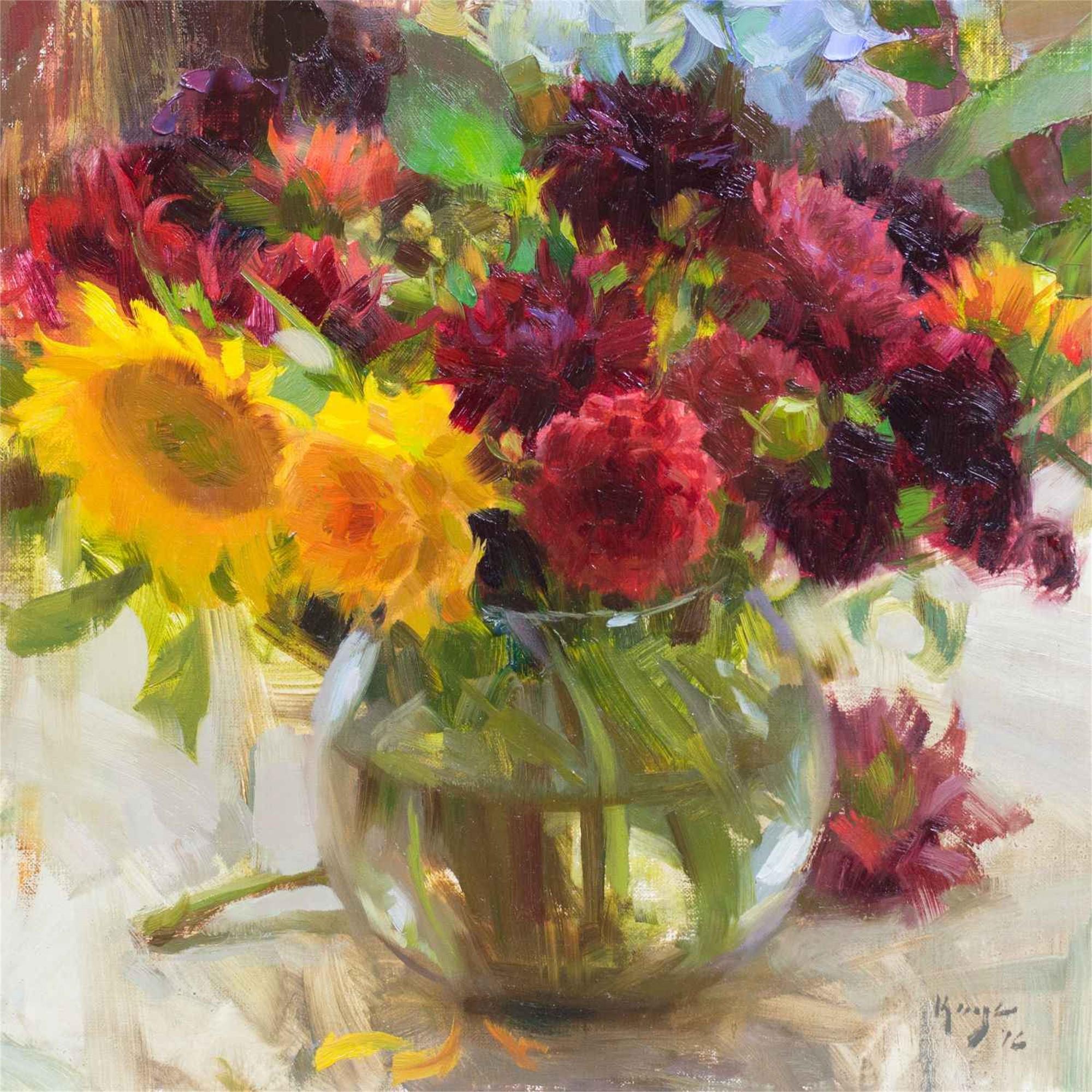 Bowl of Flowers by Daniel Keys