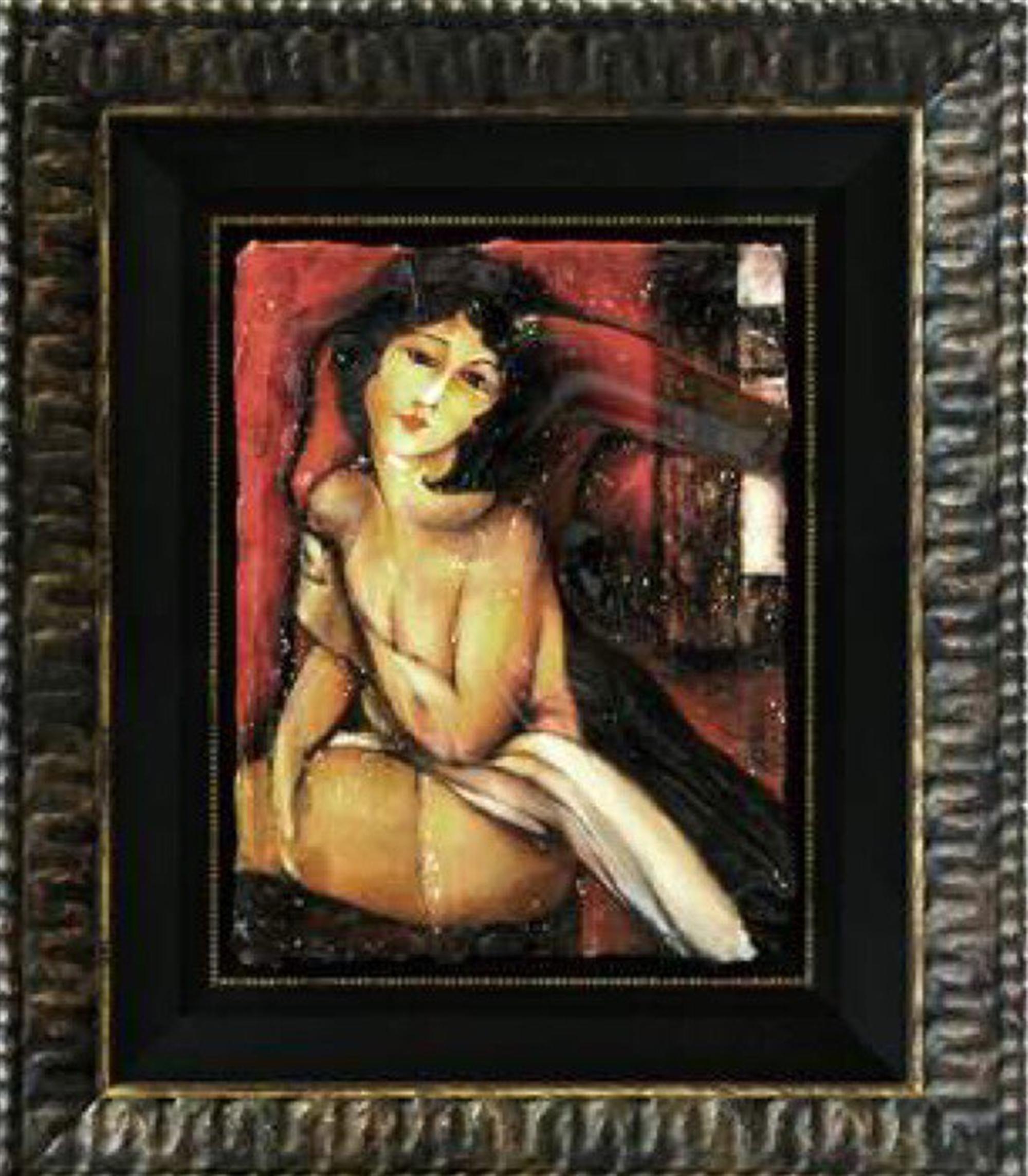 Modigliani Spirit Detail Belle Romain by Bill Mack