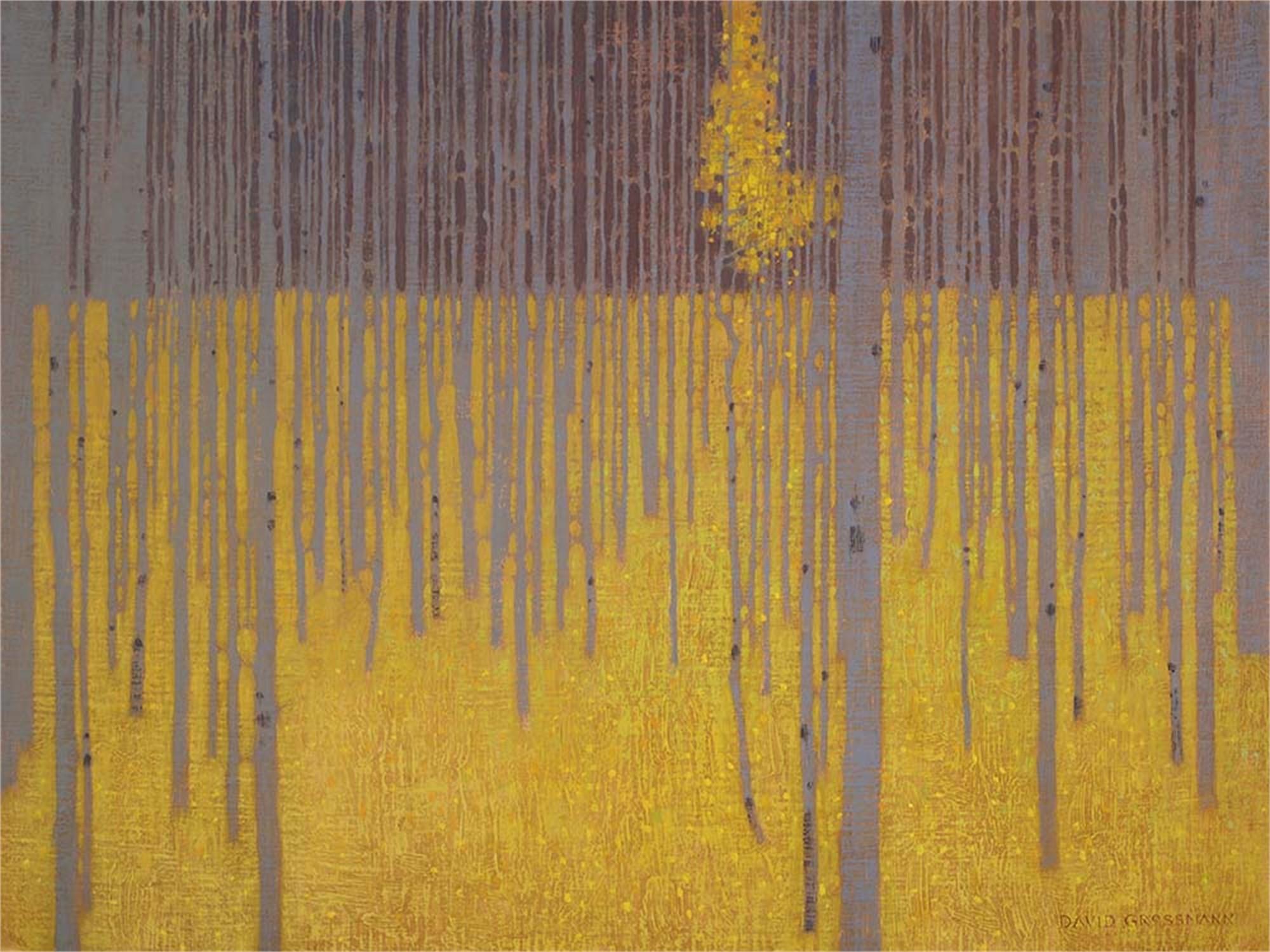 Bright Falling Leaves by David Grossmann