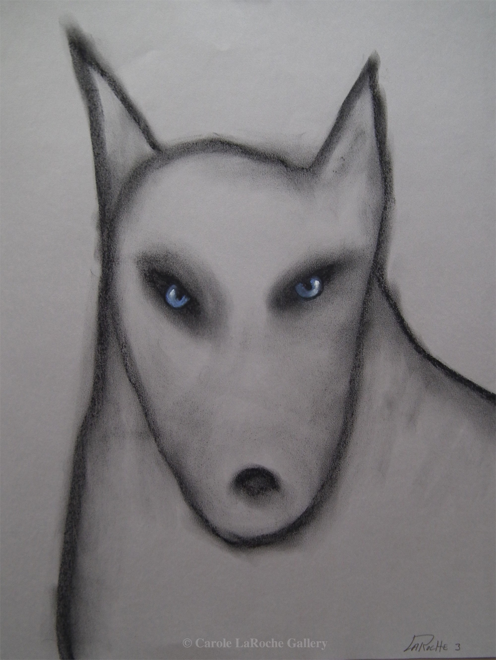 THE VISITORS / WOLF #3 by Carole LaRoche