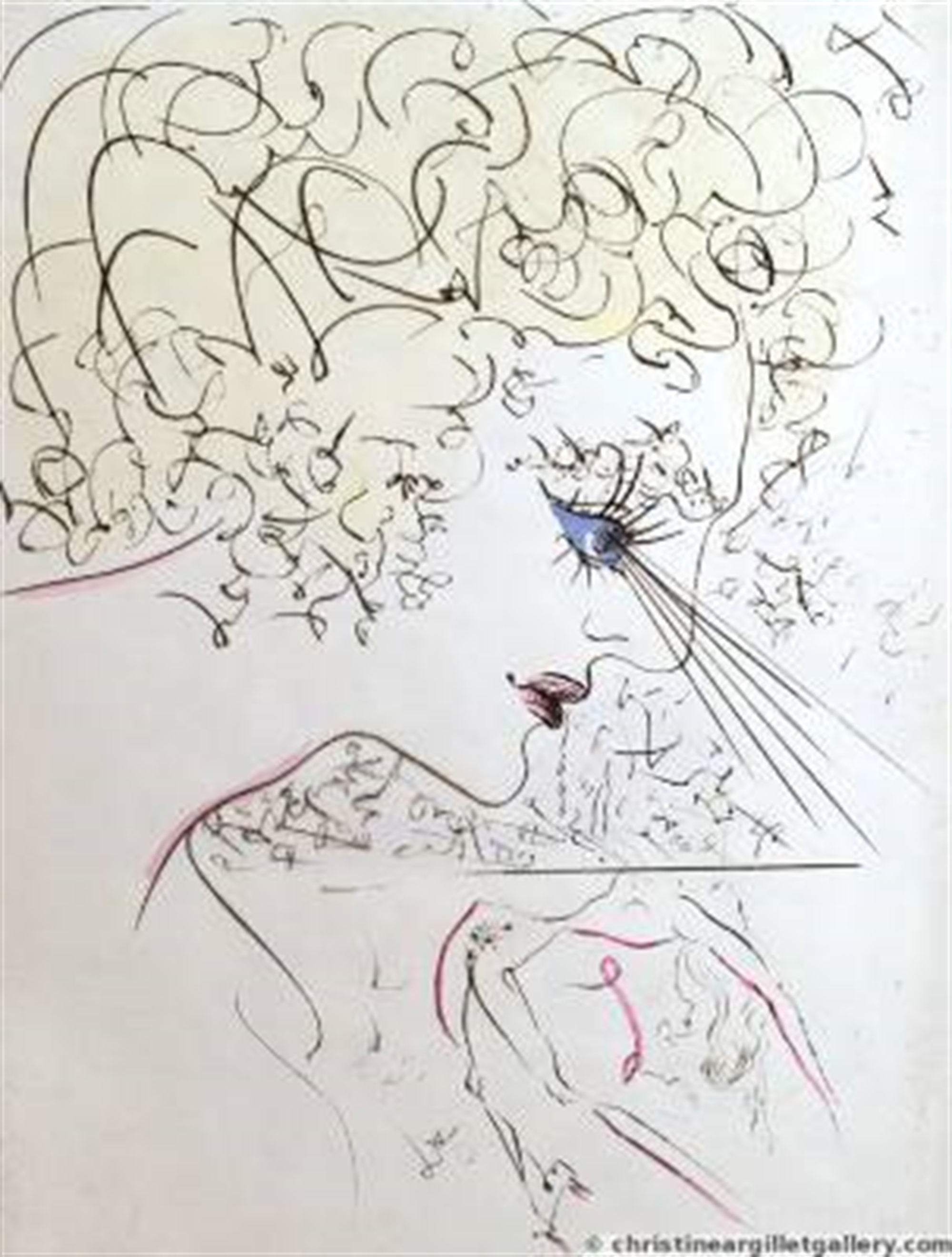 "Venus in Furs ""The Head"" by Salvador Dali"