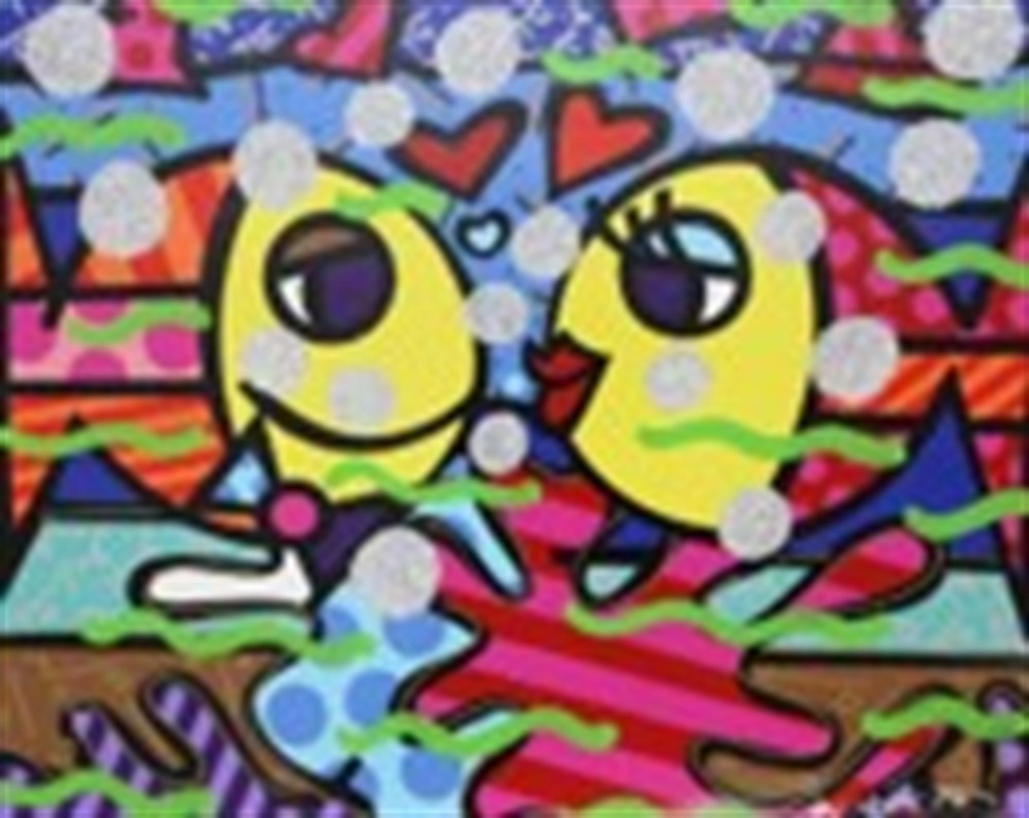 DEEP LOVE by Romero Britto